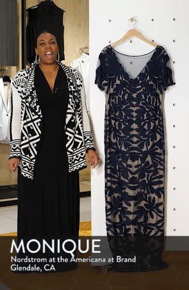 Illusion Soutache Evening Dress, sales video thumbnail