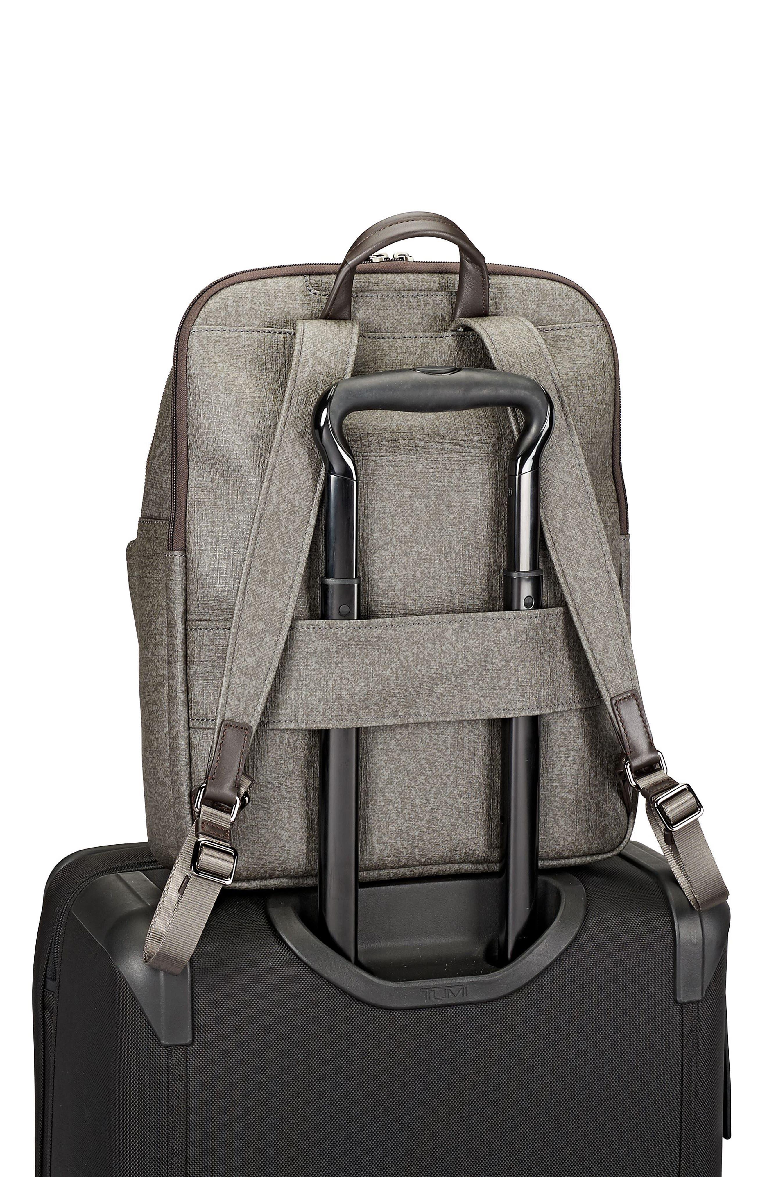 Stanton – Hettie Coated Canvas Backpack,                             Alternate thumbnail 6, color,
