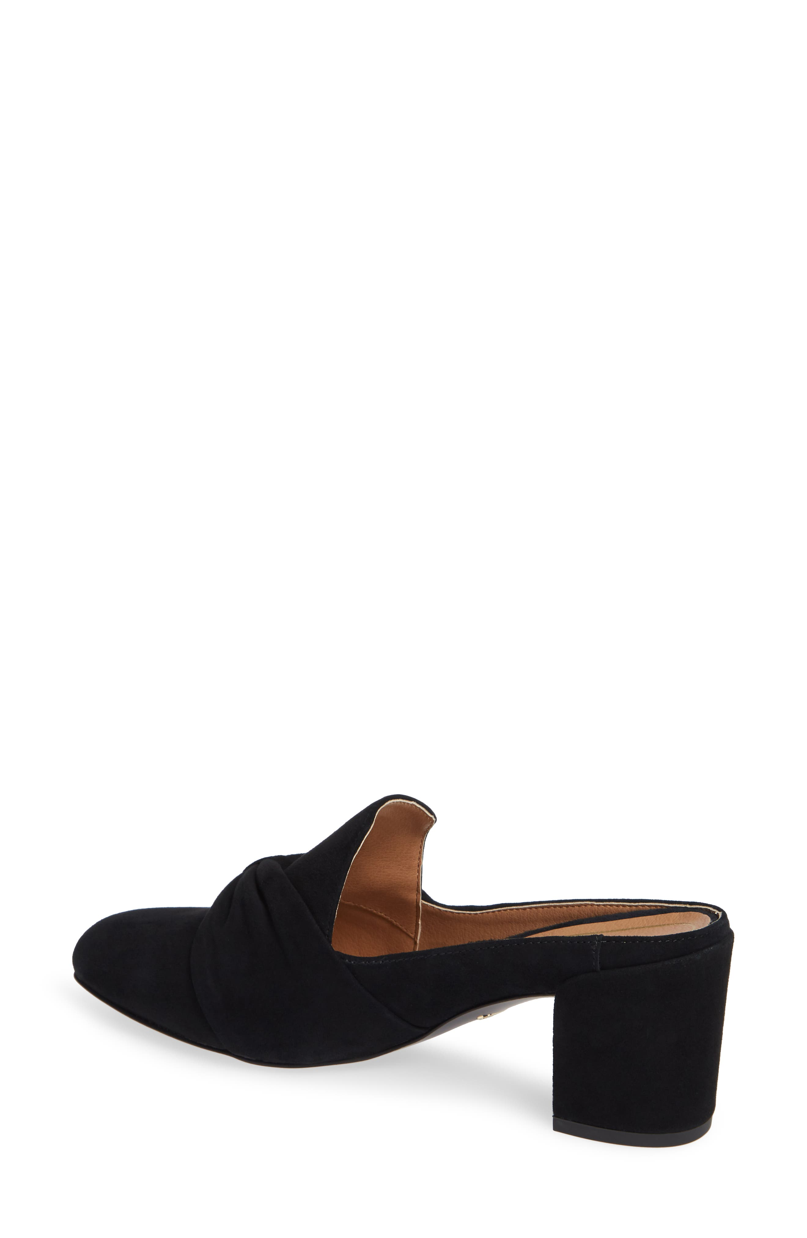 Presley Mule,                             Alternate thumbnail 2, color,                             BLACK SUEDE