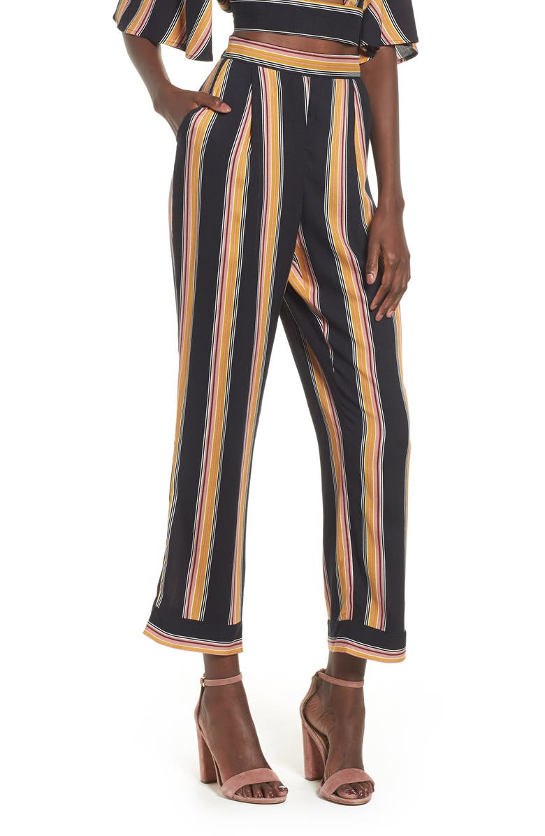 Band Of Gypsies LAUREN STRIPE PANTS