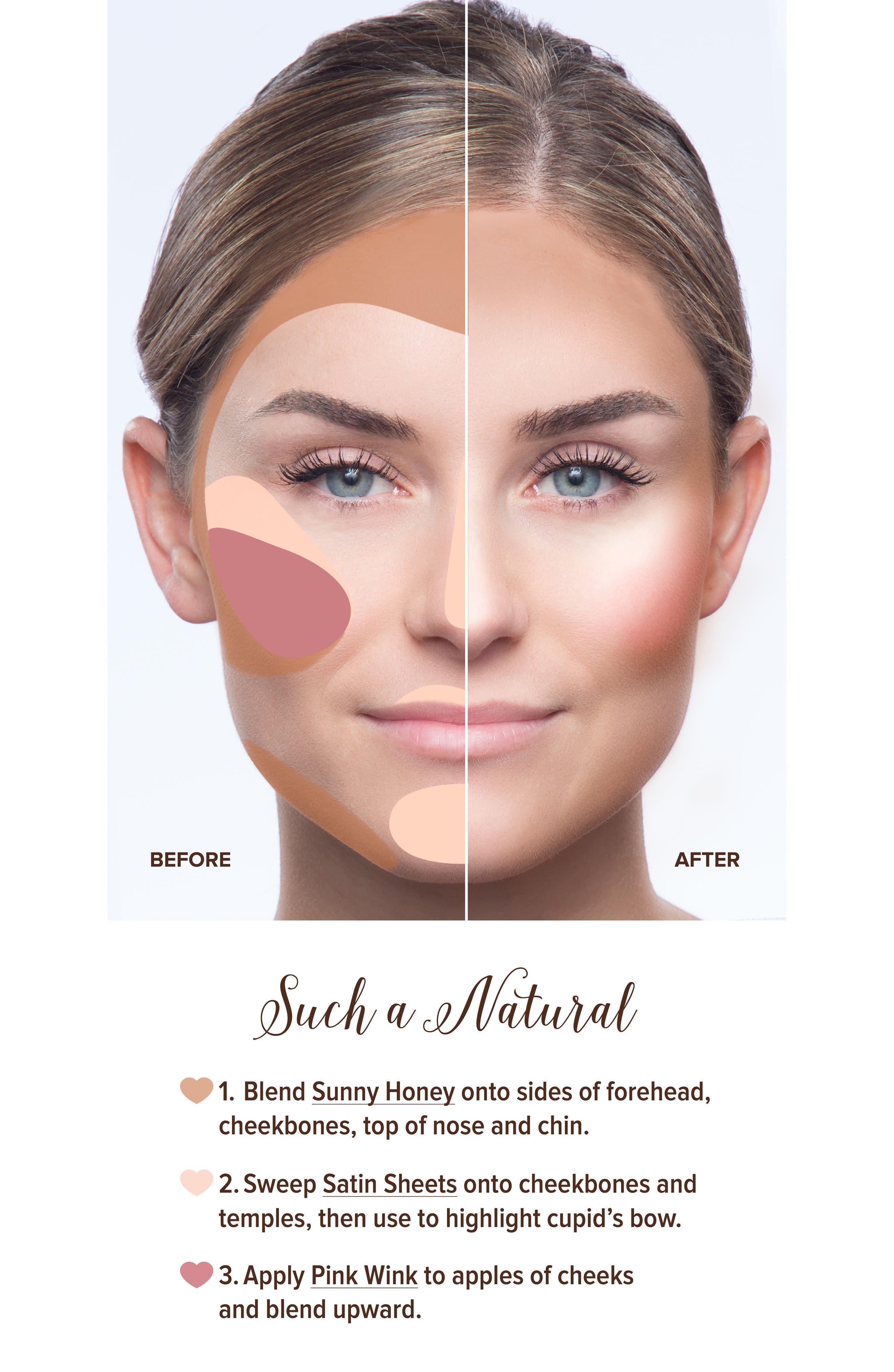Natural Face Palette,                             Alternate thumbnail 8, color,                             NO COLOR