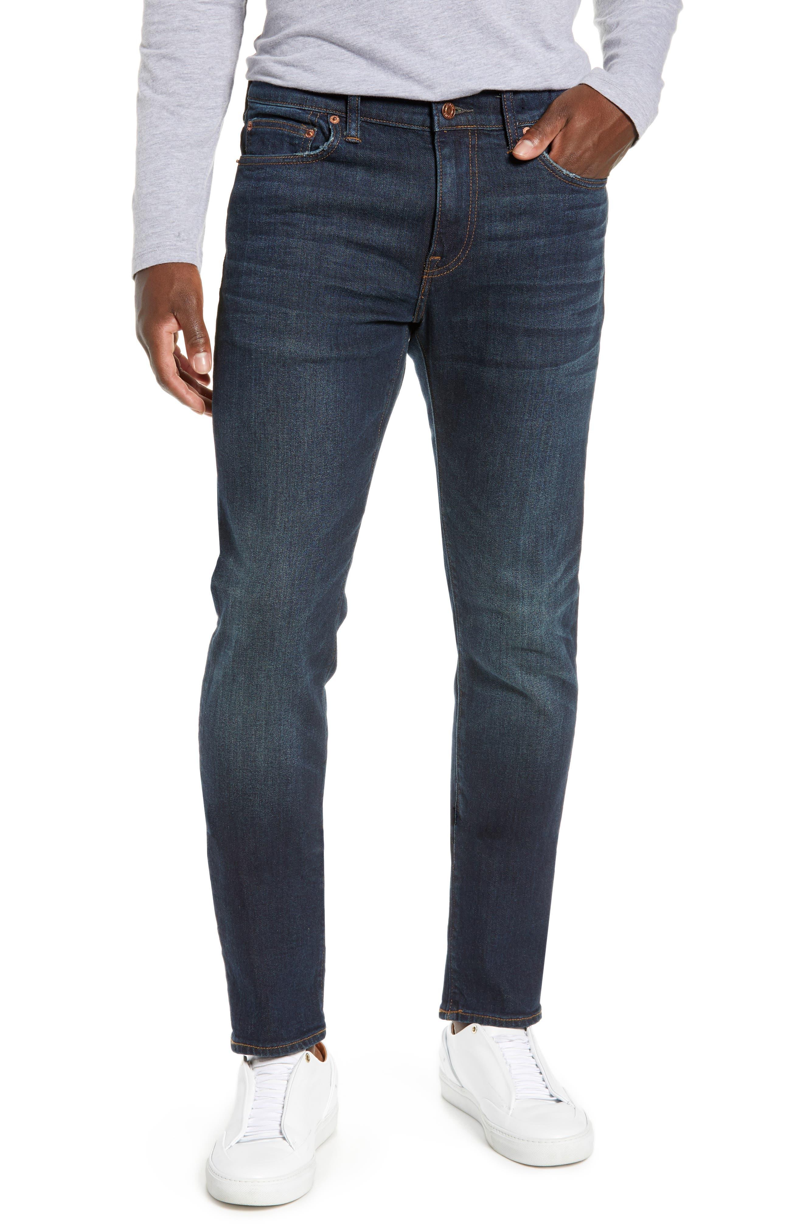 J.CREW 484 Slim Fit Stretch Jeans in Dark Worn-In Wash