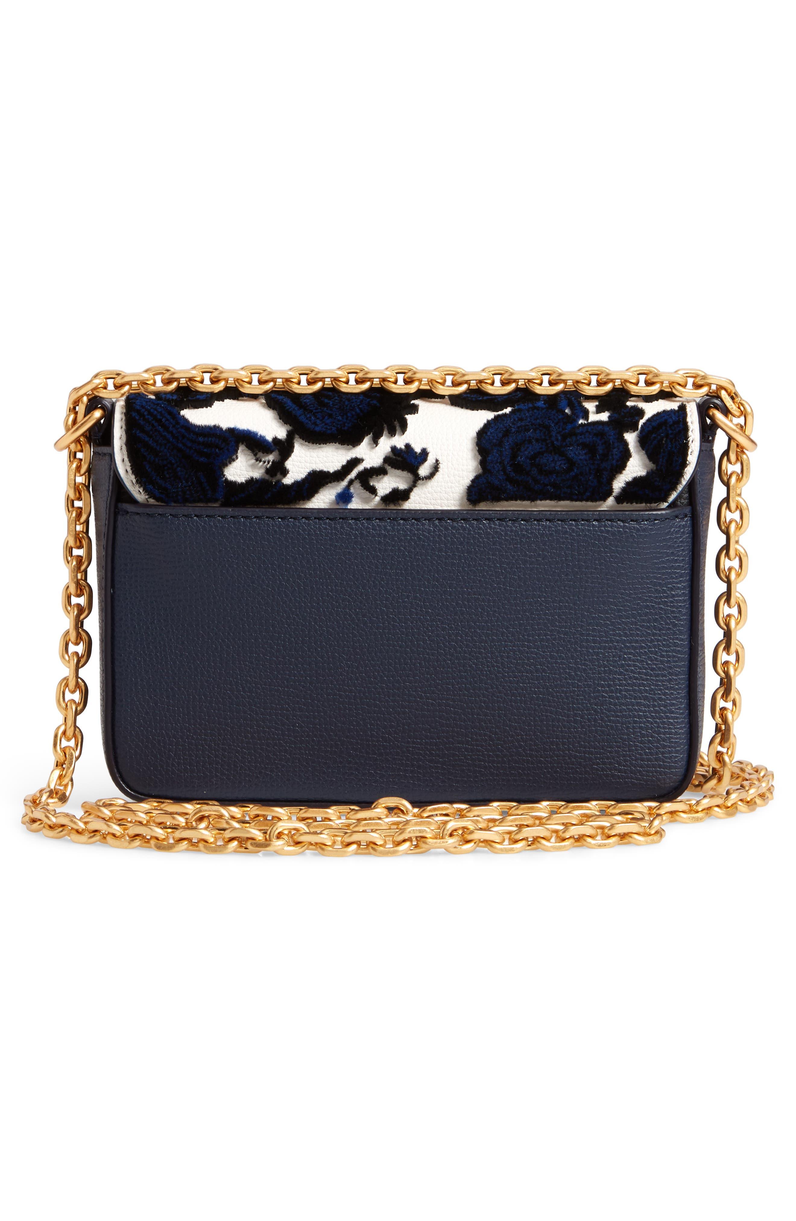 Mini Kira Leather & Fil Coupé Bag,                             Alternate thumbnail 3, color,                             NEUTRAL HAPPY TIMES