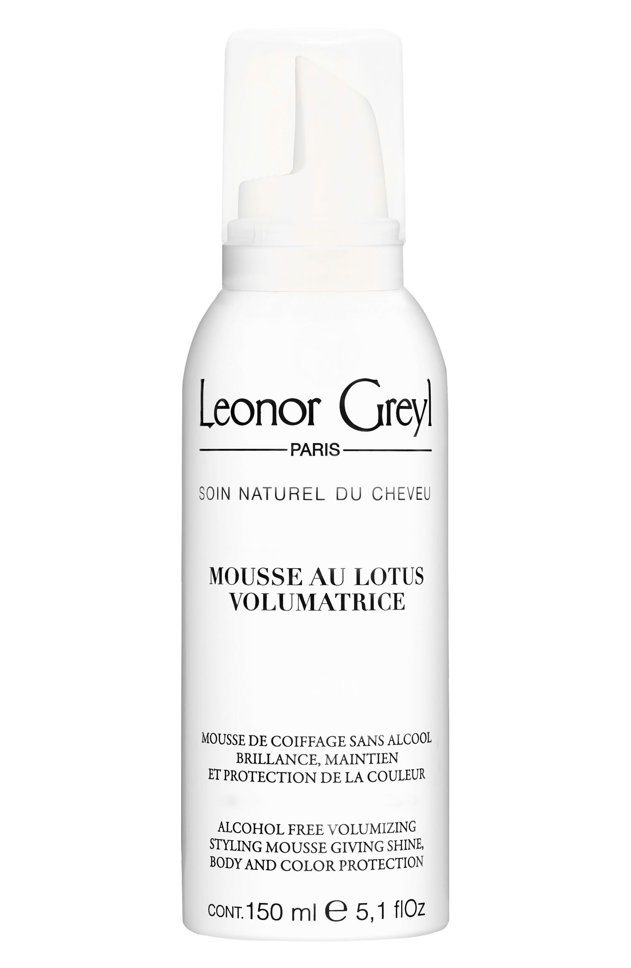LEONOR GREYL Mousse Au Lotus Volumatrice (Volumizing Styling Mousse), 5.1 Oz./ 150 Ml