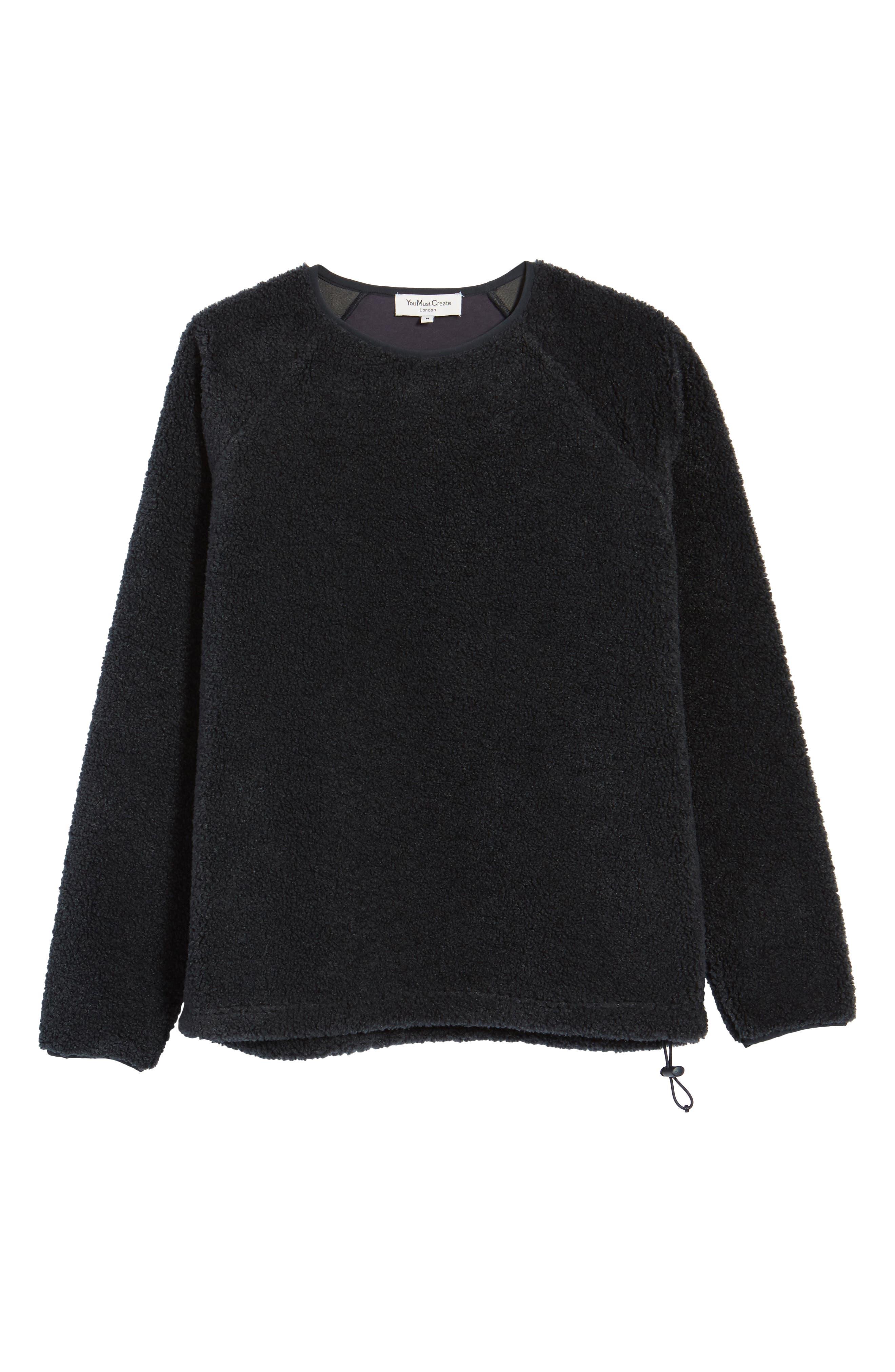 Deliverance Fleece Sweatshirt,                             Alternate thumbnail 6, color,