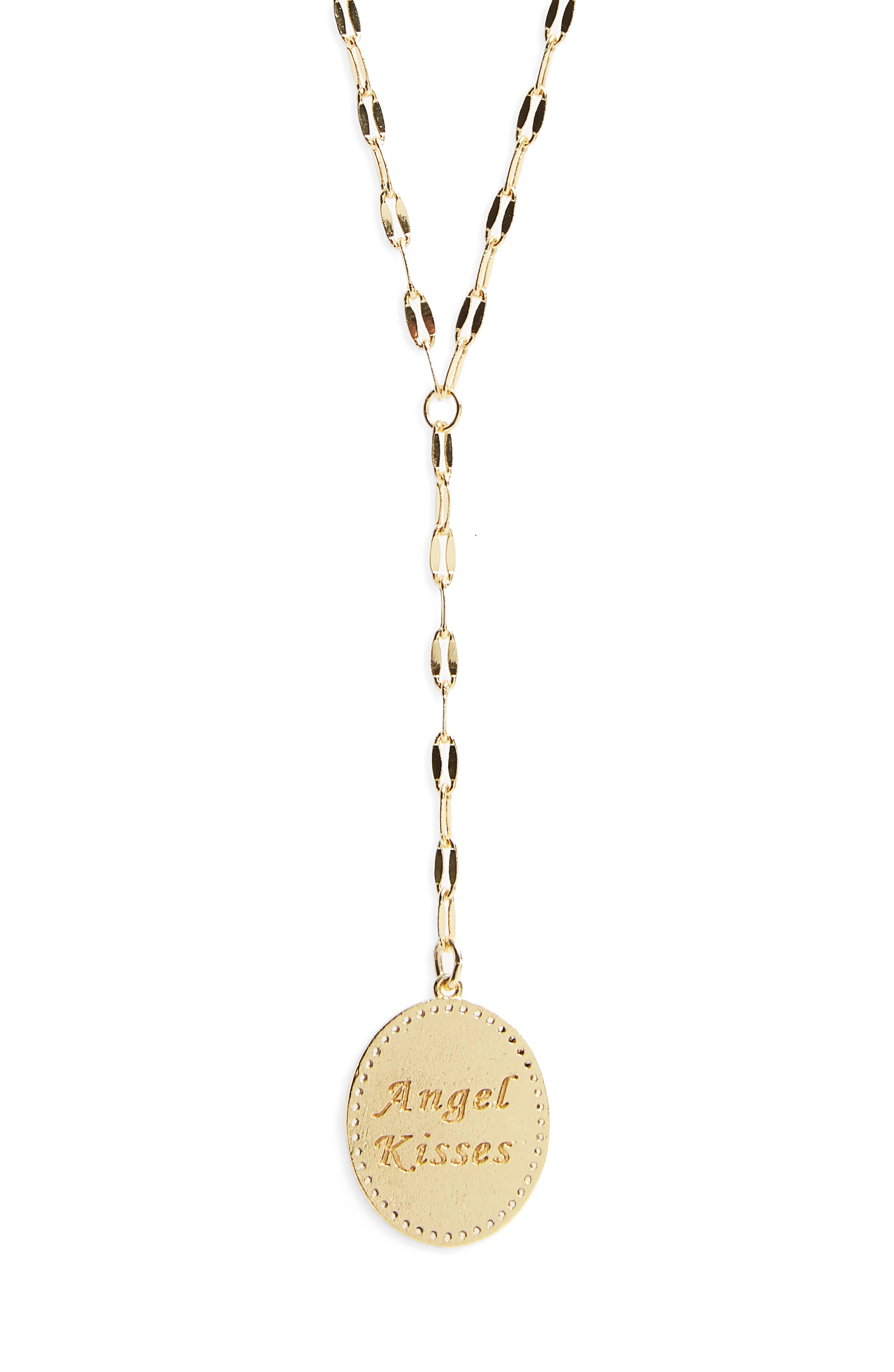 Angel Kisses Y-Shape Necklace,                             Alternate thumbnail 3, color,                             711