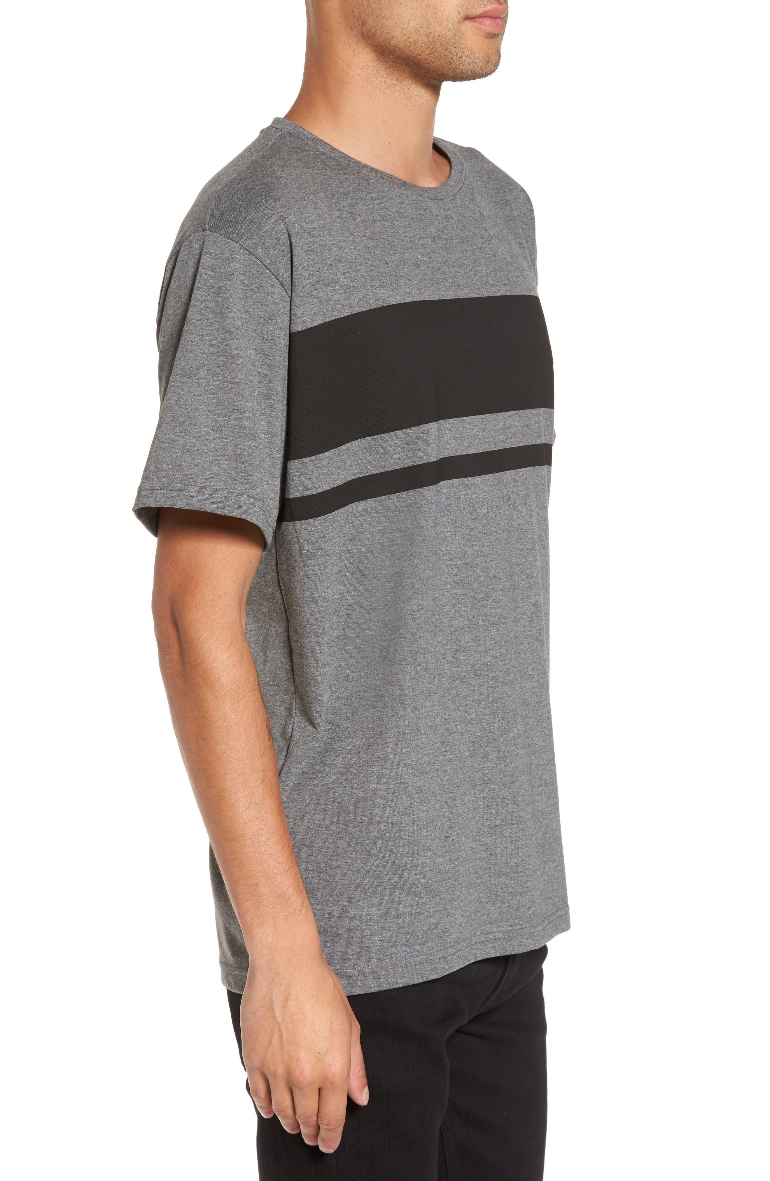 Russ Stripe T-Shirt,                             Alternate thumbnail 3, color,                             020