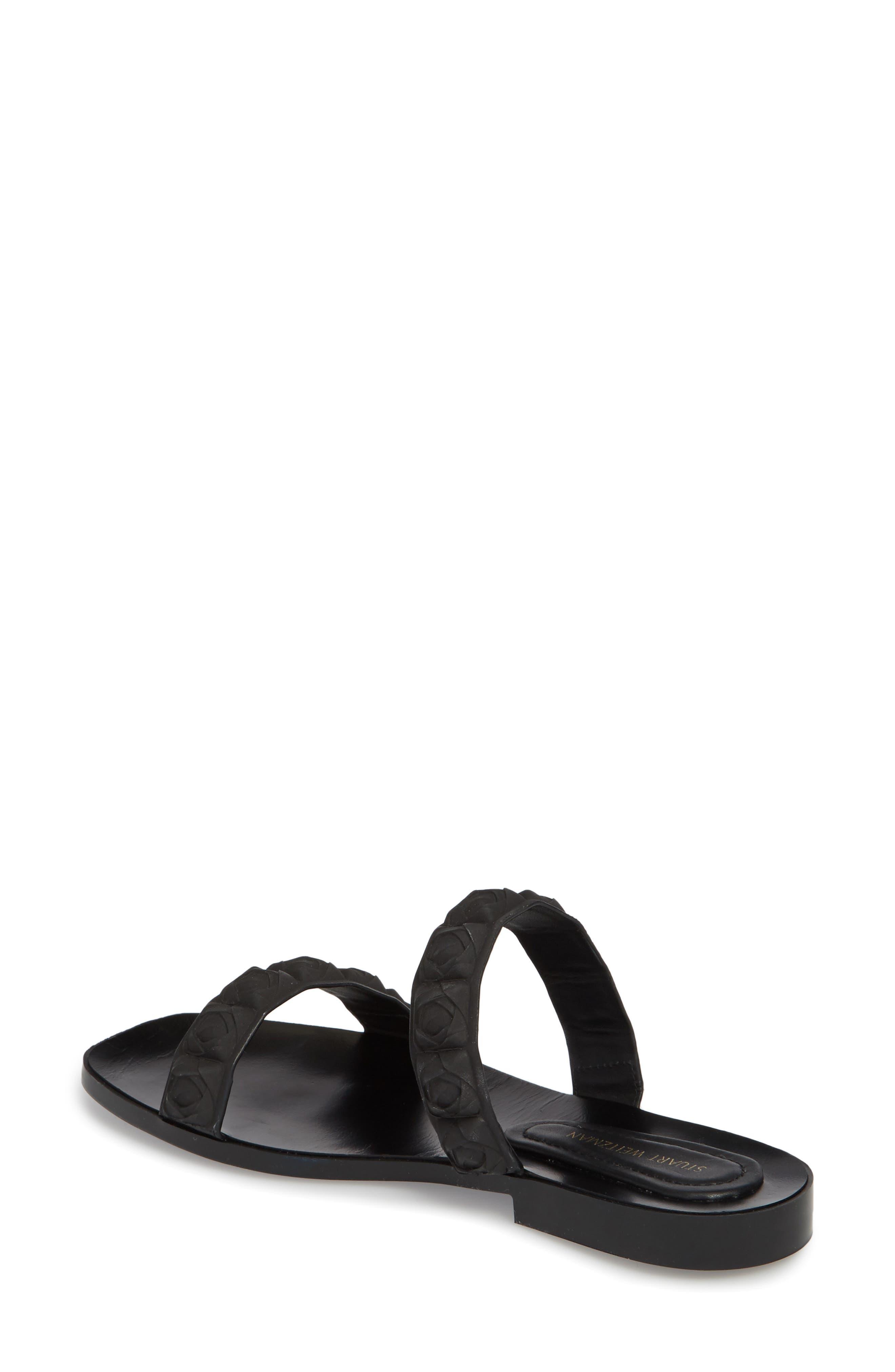 Rosita Dual Strap Slide Sandal,                             Alternate thumbnail 2, color,                             003