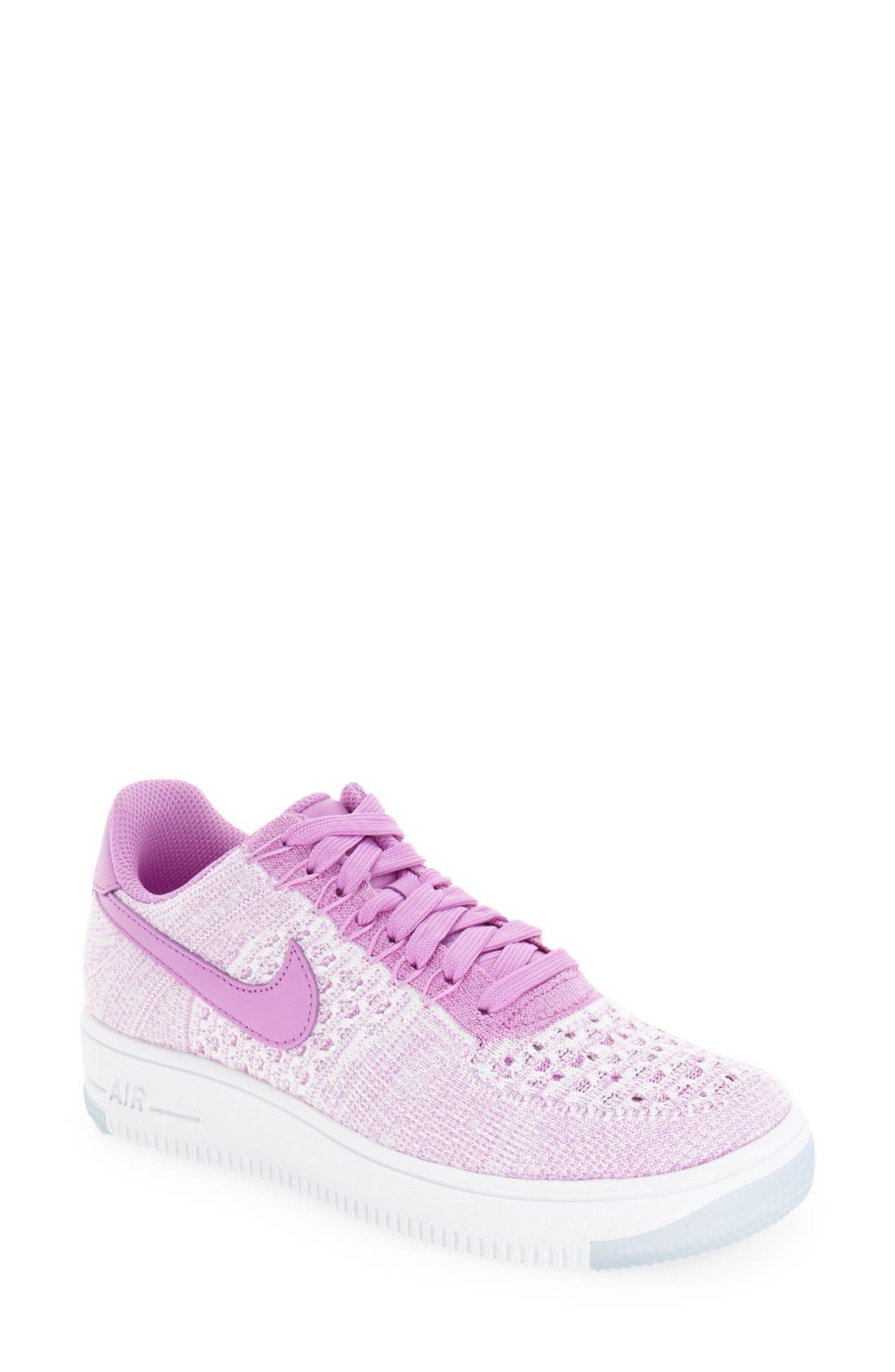 'Air Force 1 Flyknit Low' Sneaker,                             Main thumbnail 6, color,