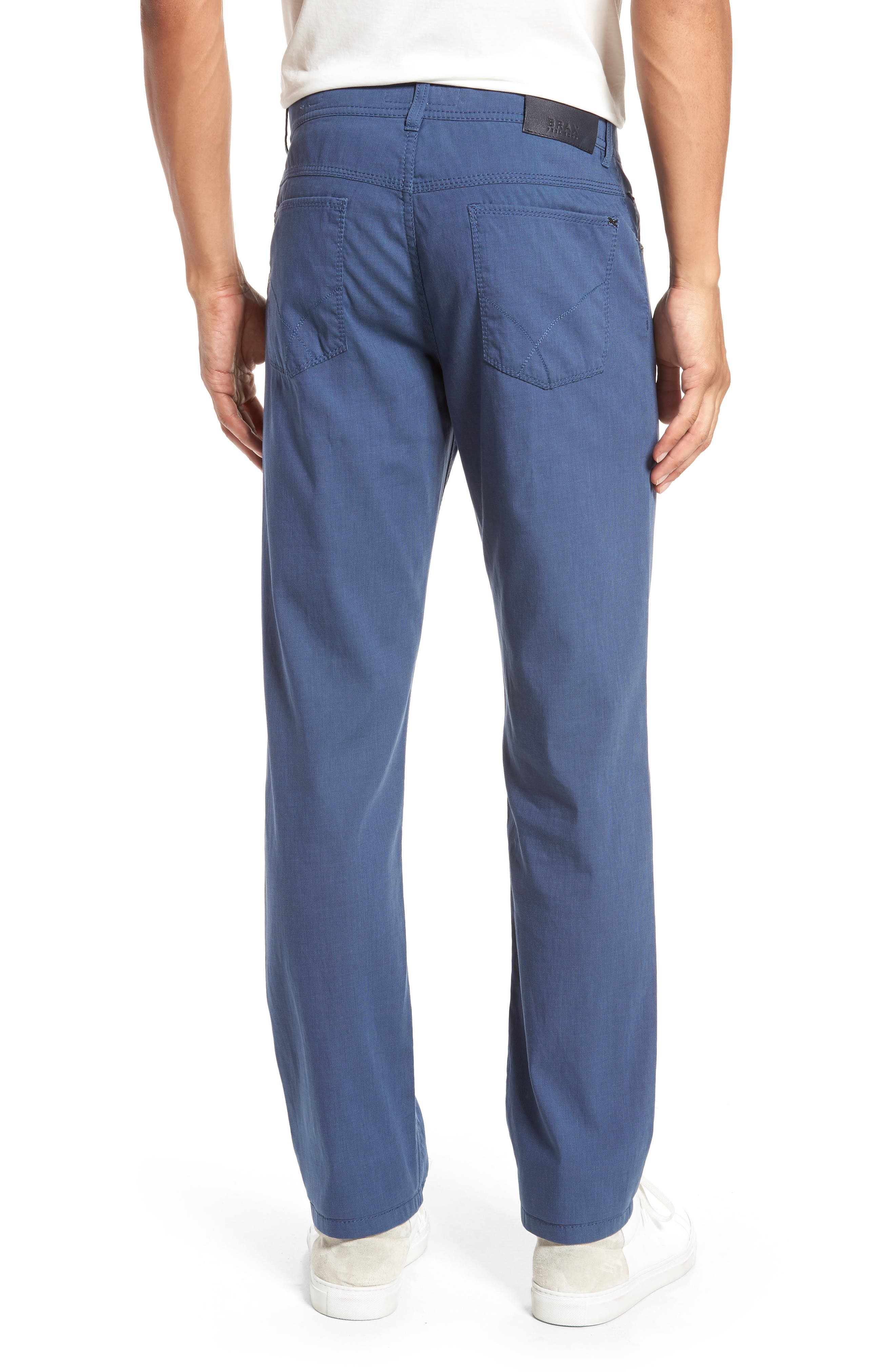 Sensation Stretch Trousers,                             Alternate thumbnail 2, color,                             BLUE