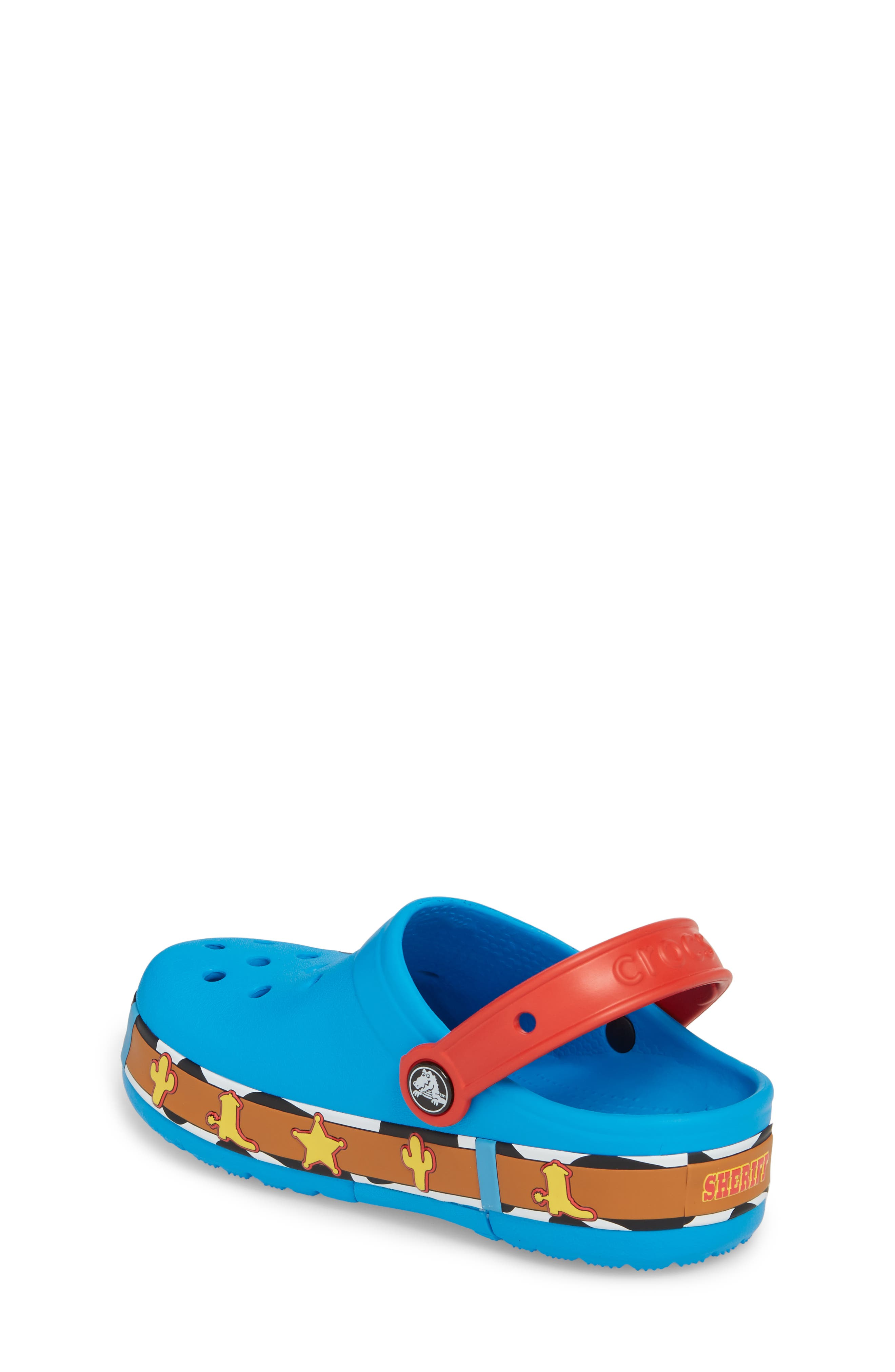 Disney Toy Story - Woody Crocband Light-Up Slip-On,                             Alternate thumbnail 2, color,                             456
