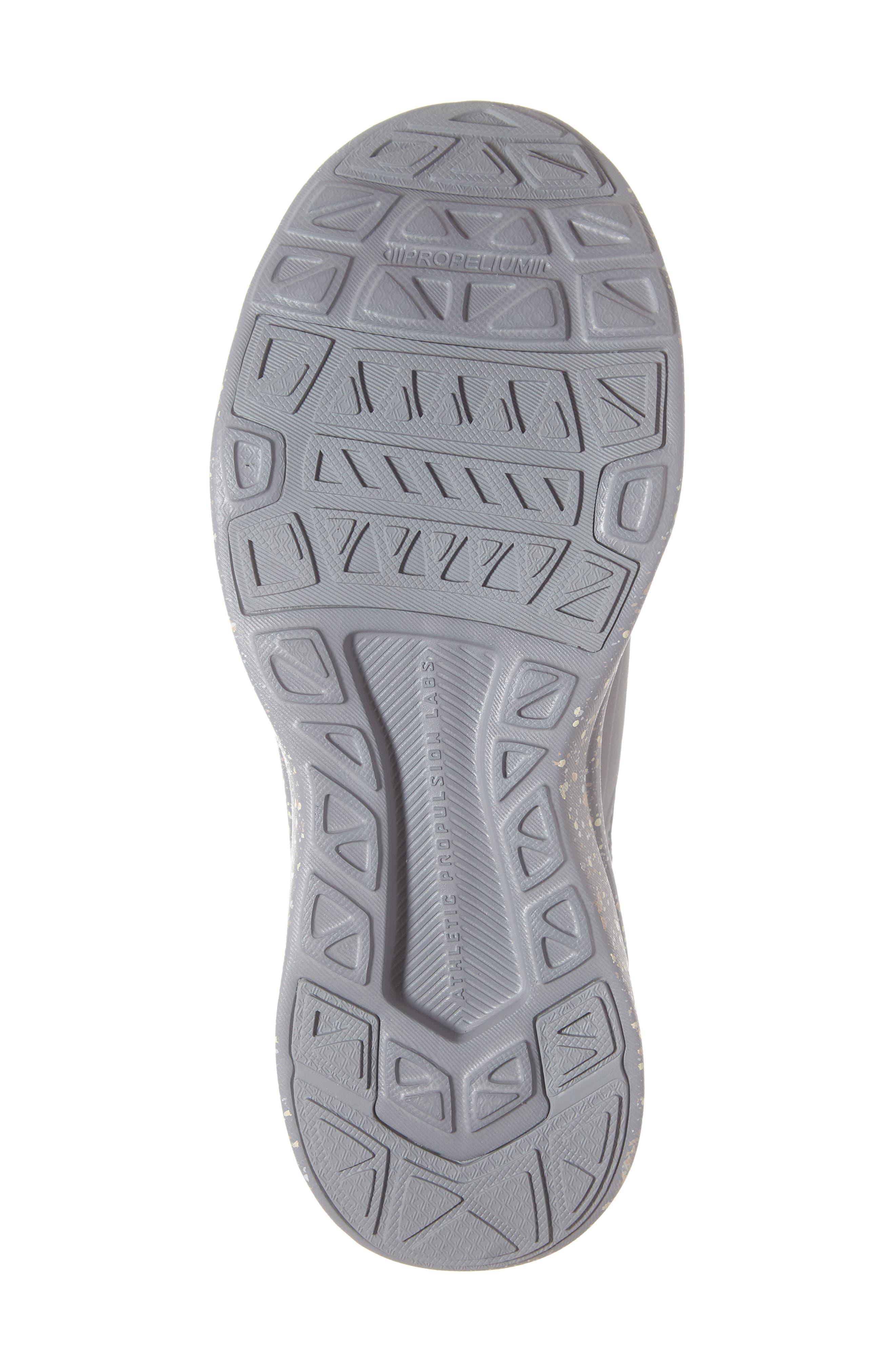 APL,                             Techloom Bliss Knit Running Shoe,                             Alternate thumbnail 6, color,                             CEMENT/ SEA SALT/ CREAM