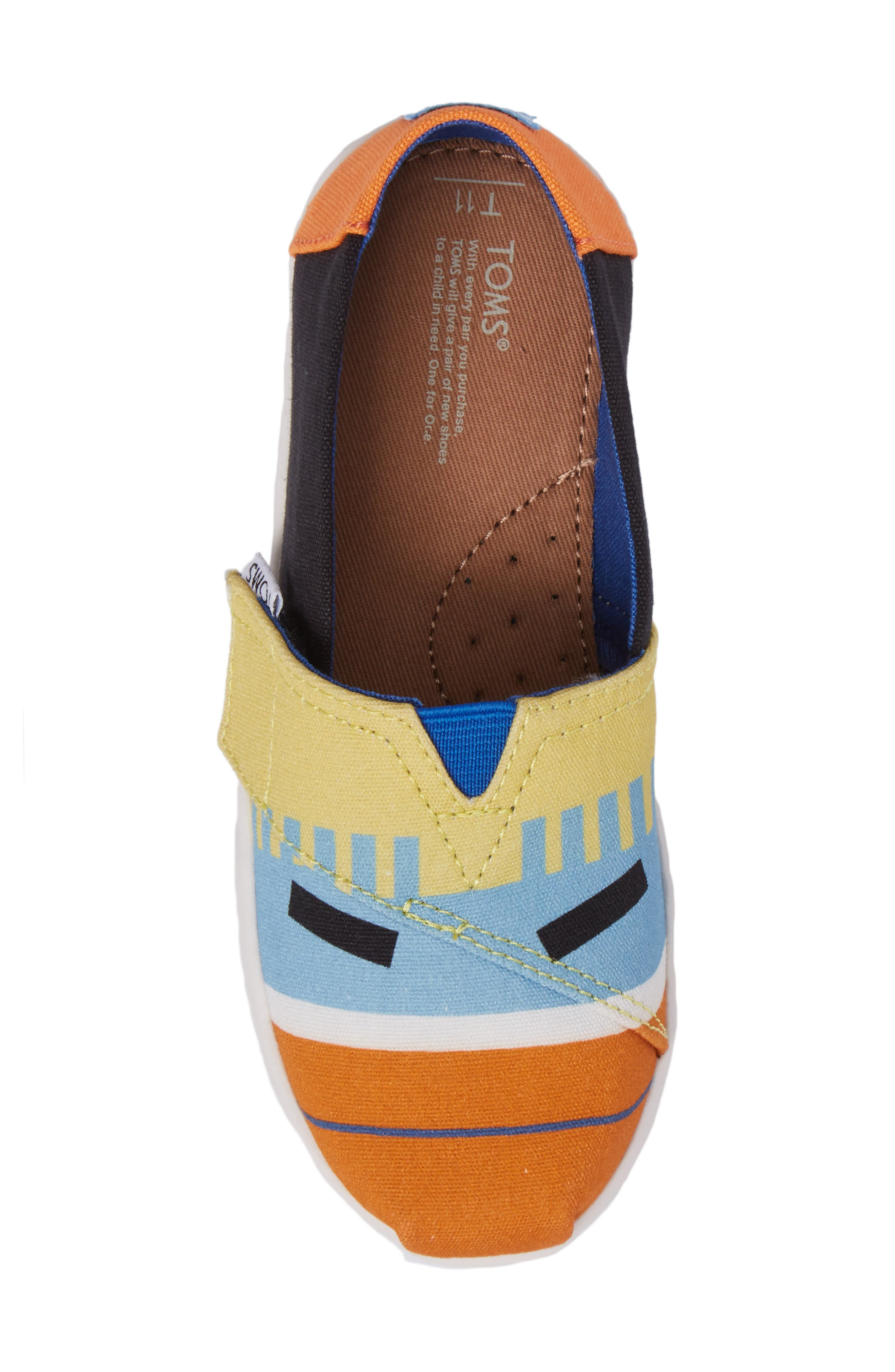 Tiny Alpargata Print Slip-On,                             Alternate thumbnail 21, color,