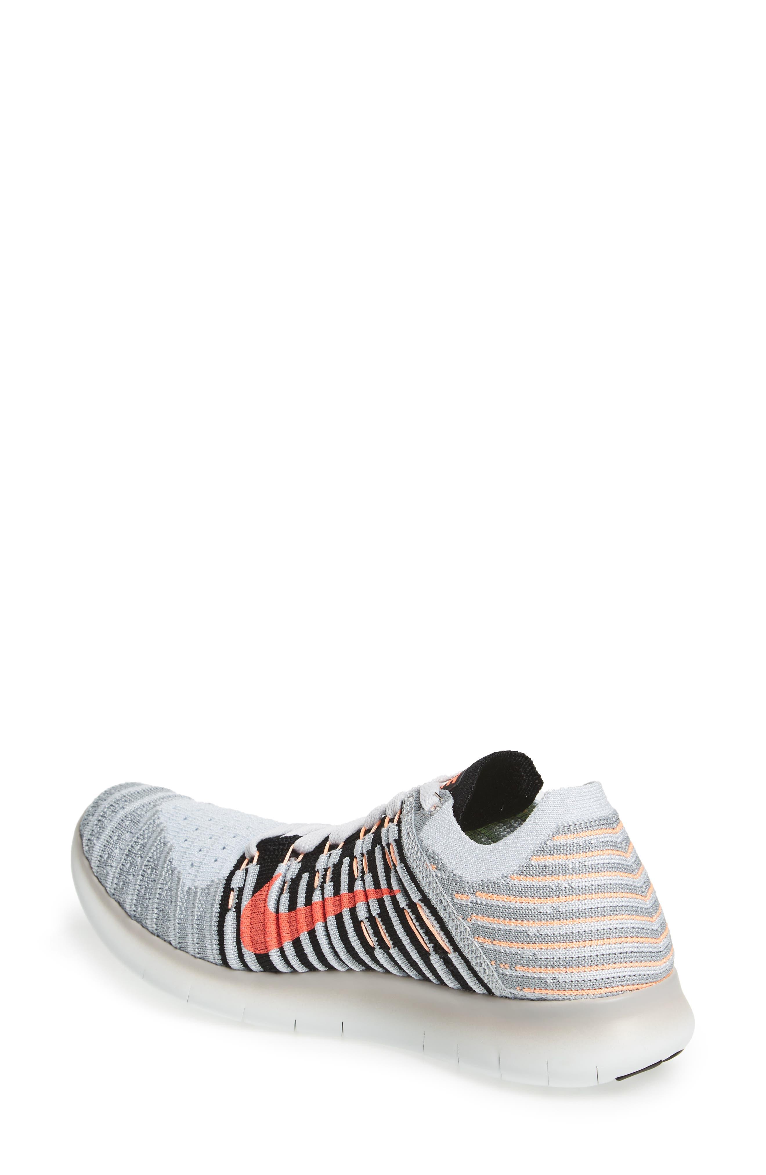 'Free Flyknit' Running Shoe,                             Alternate thumbnail 27, color,