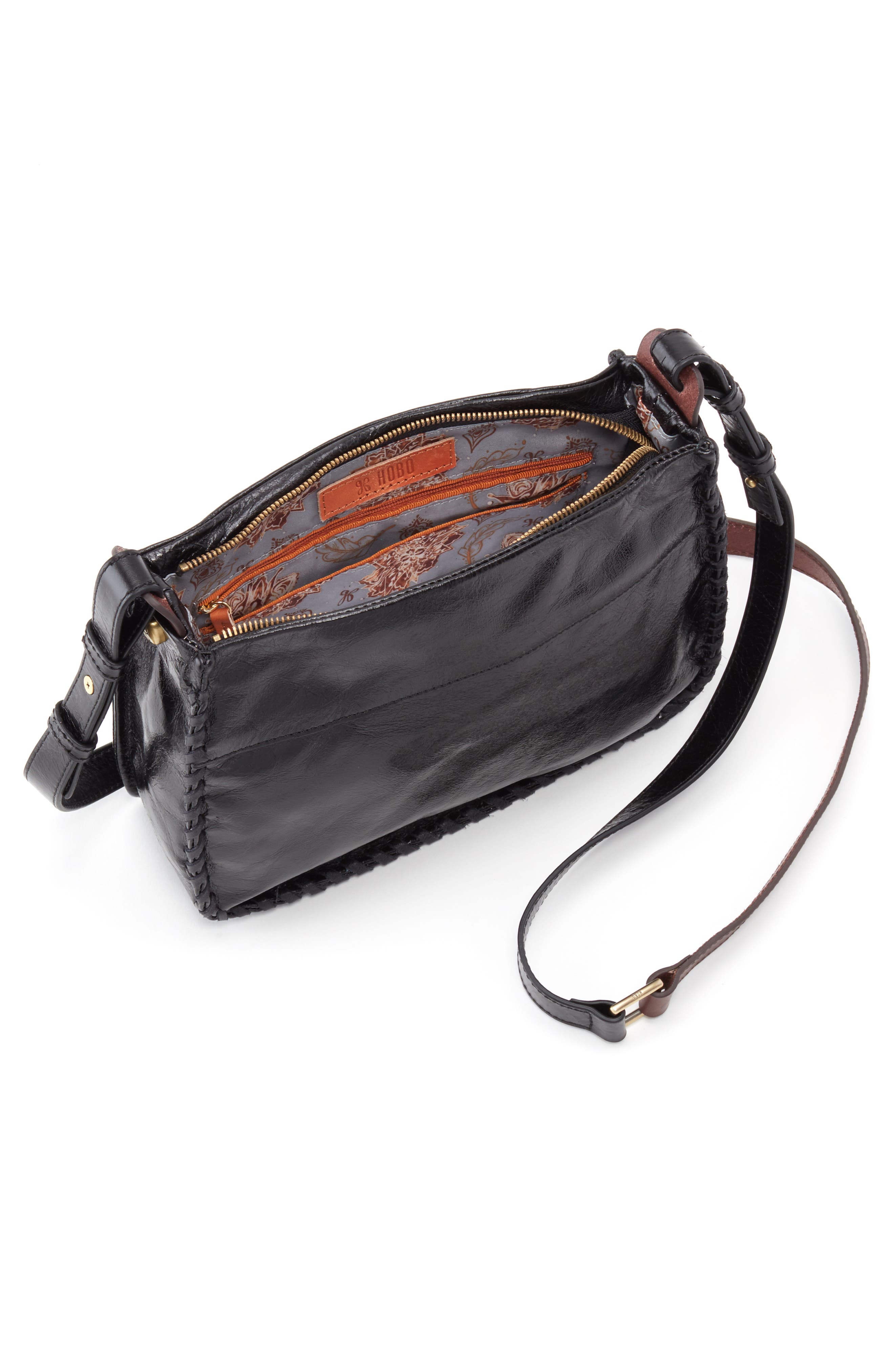 Banjo Shoulder Bag,                             Alternate thumbnail 3, color,                             001
