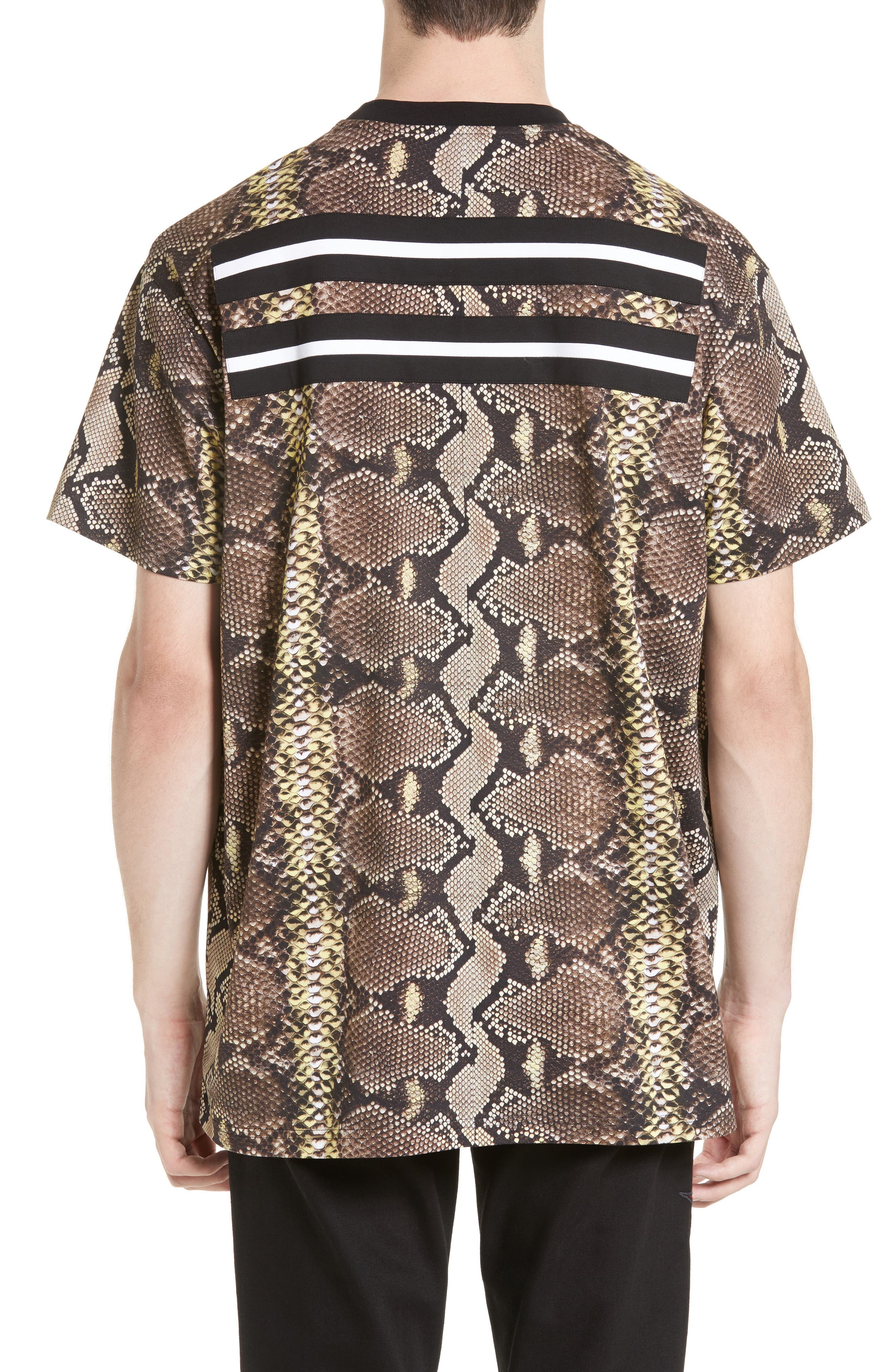 Python Print T-Shirt,                             Alternate thumbnail 2, color,                             300