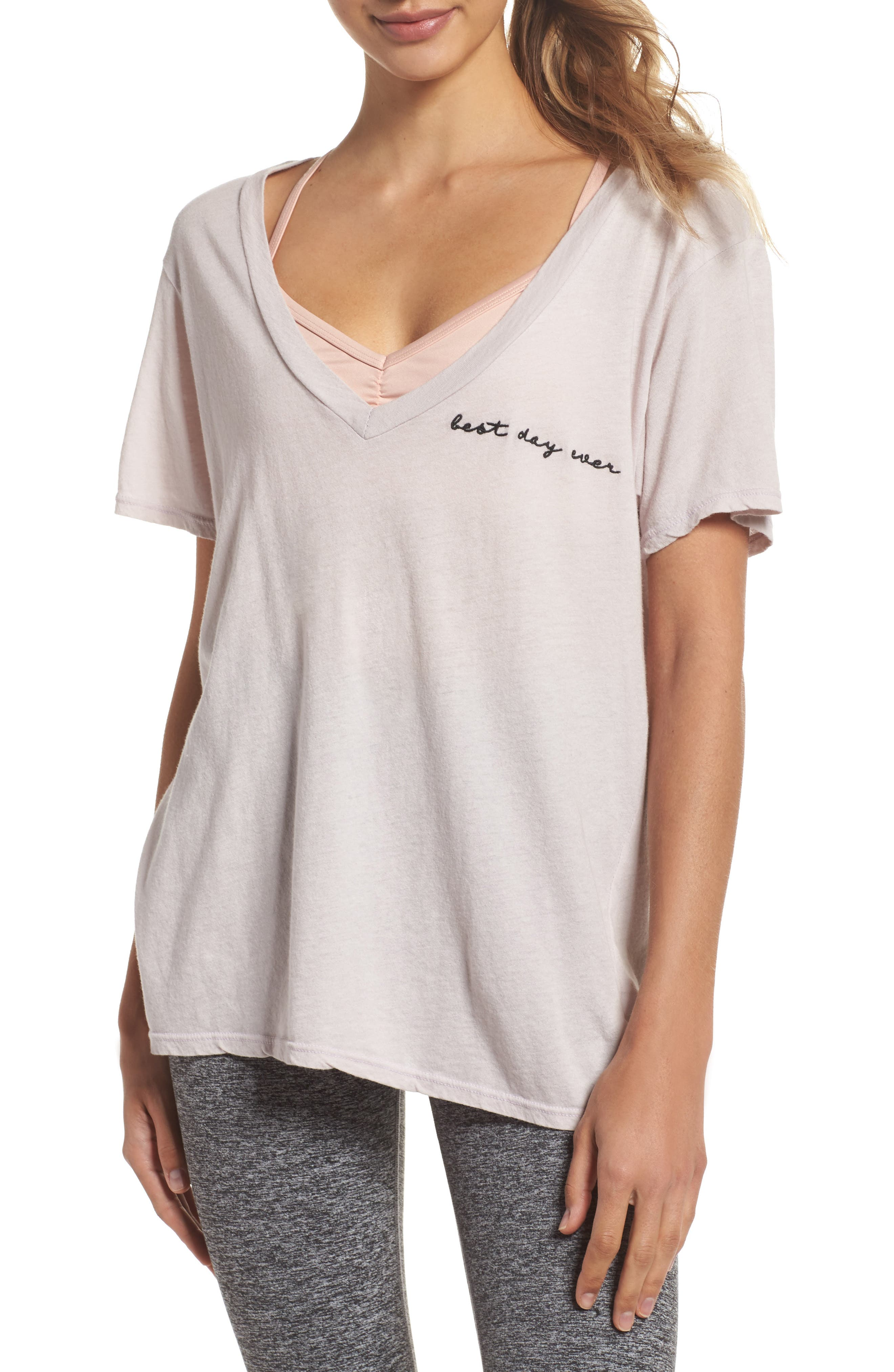 Aiden Best Day Ever V-Neck Shirt,                         Main,                         color, 500