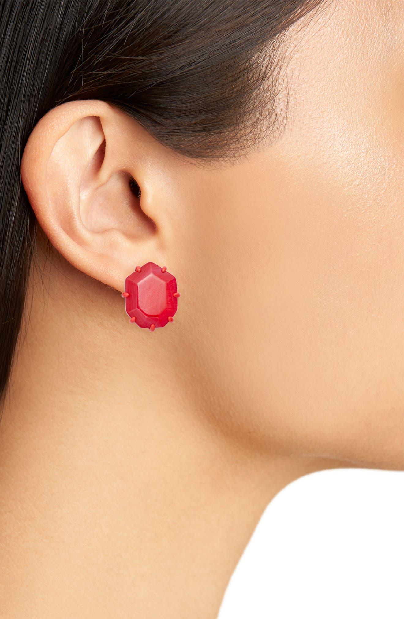 Morgan Stud Earrings,                             Alternate thumbnail 9, color,