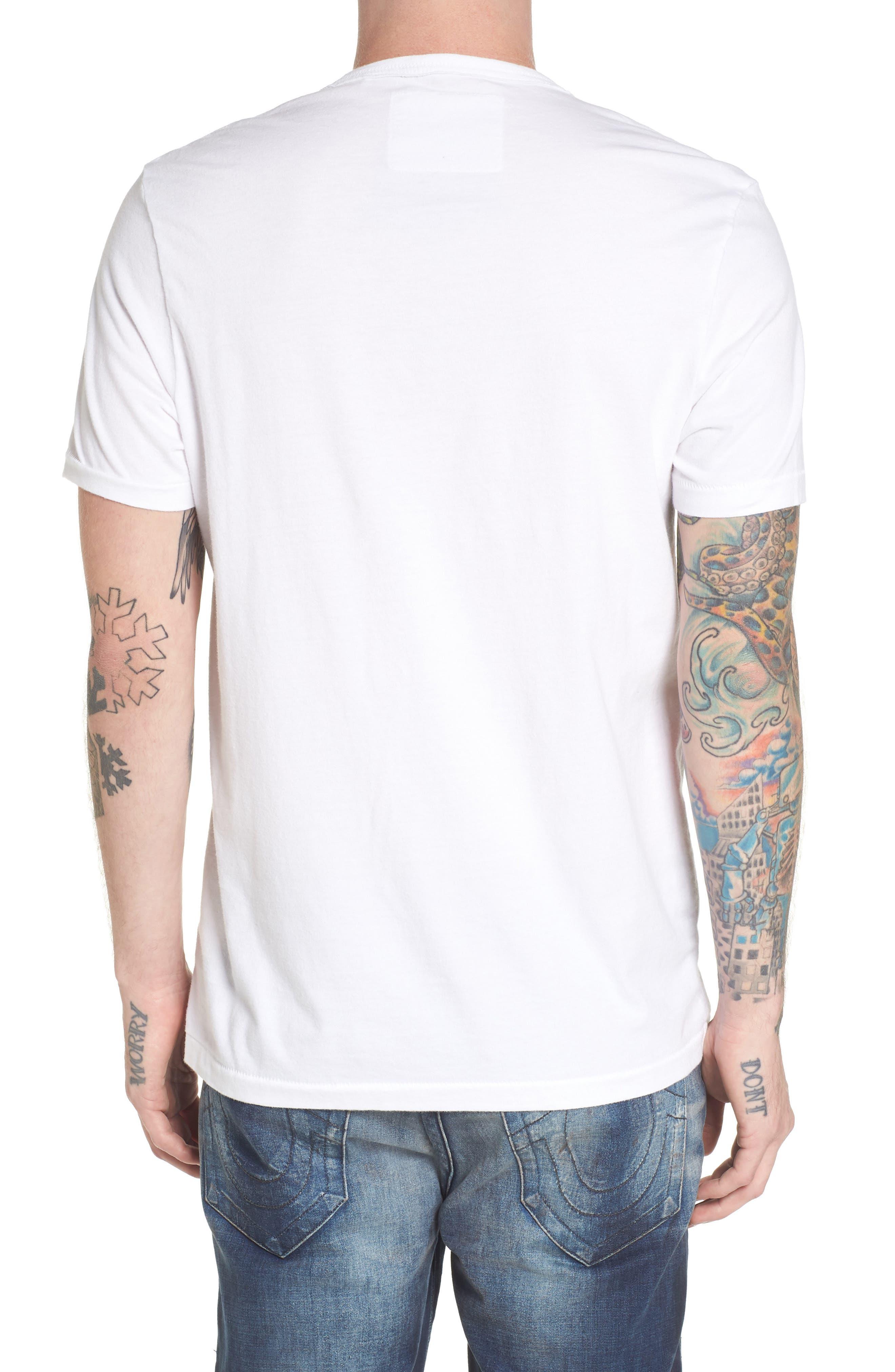 3D Camo Graphic T-Shirt,                             Alternate thumbnail 2, color,