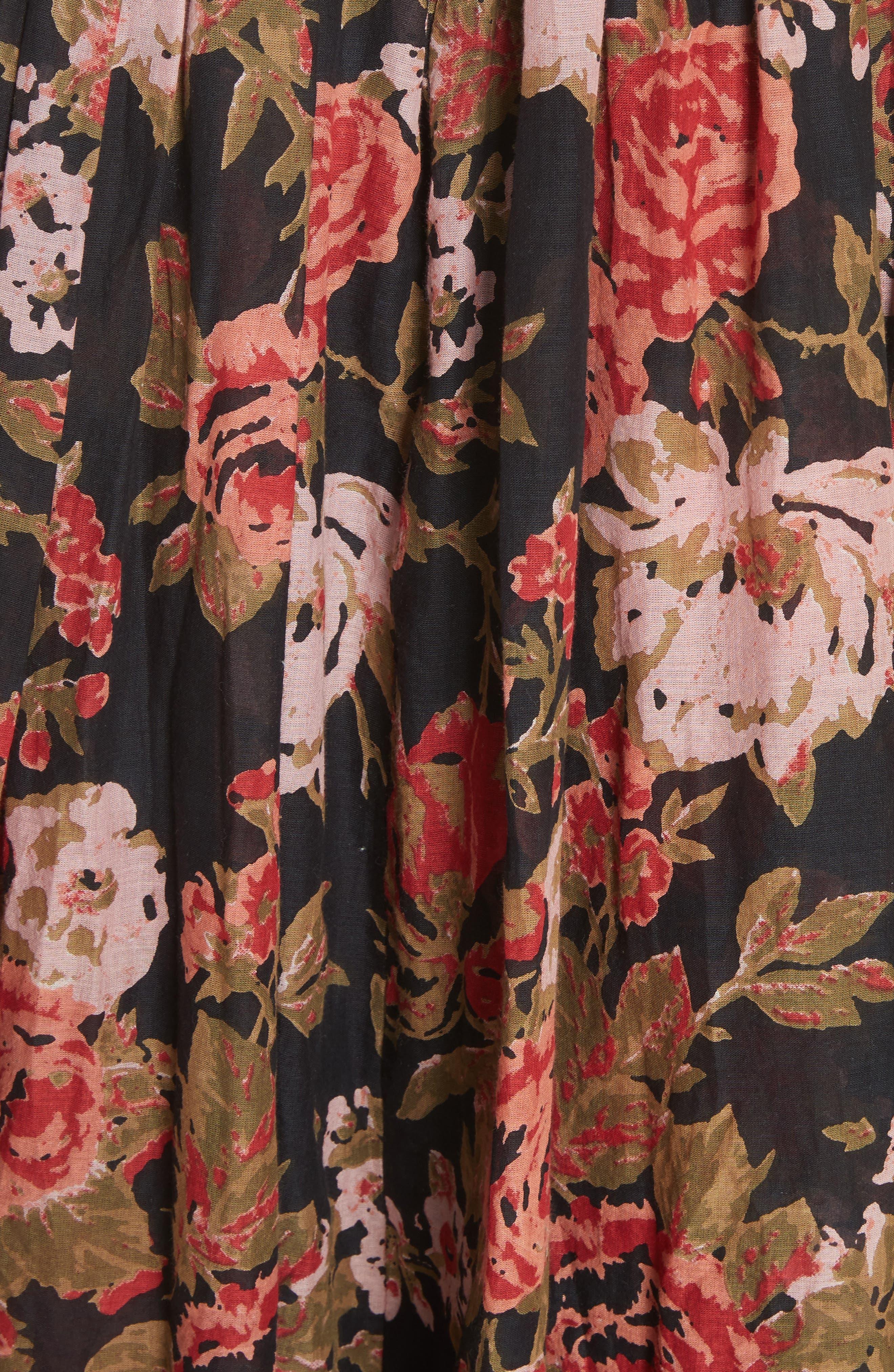 Love You Midi Dress,                             Alternate thumbnail 7, color,                             001