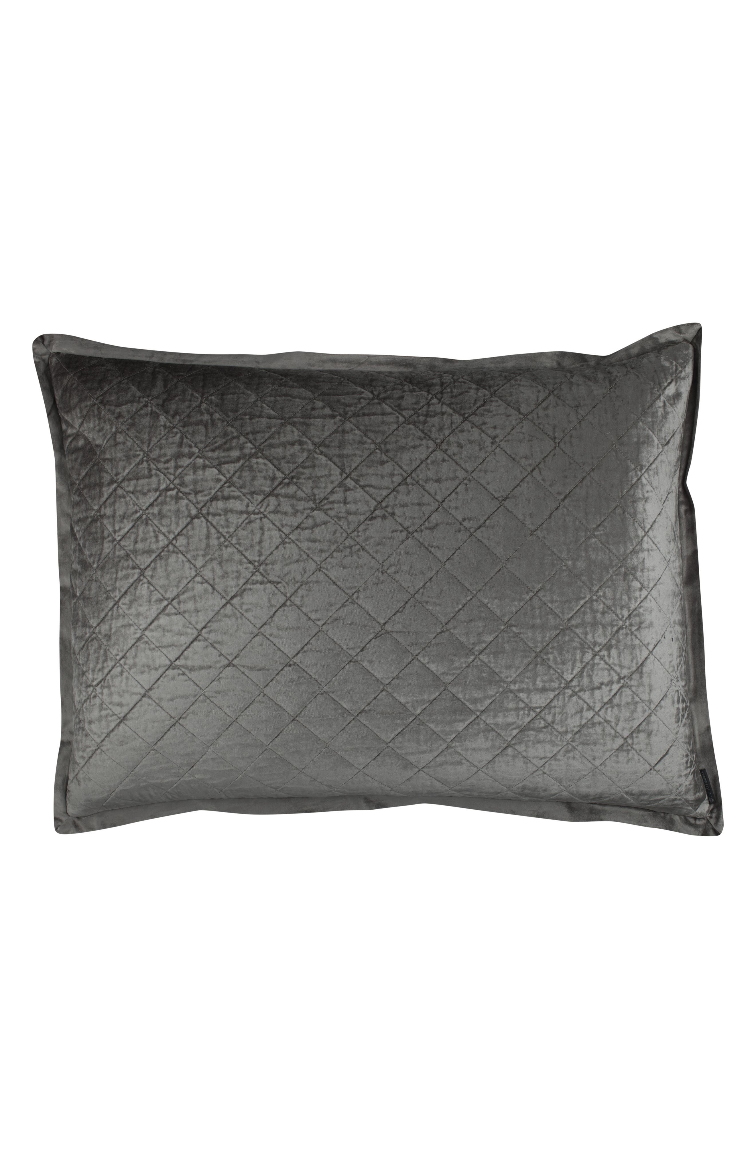 Chloe Luxe Euro Quilted Sham,                         Main,                         color, 020