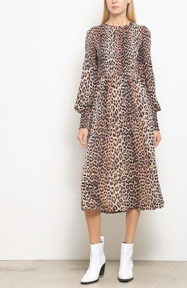 Print Georgette Dress, video thumbnail