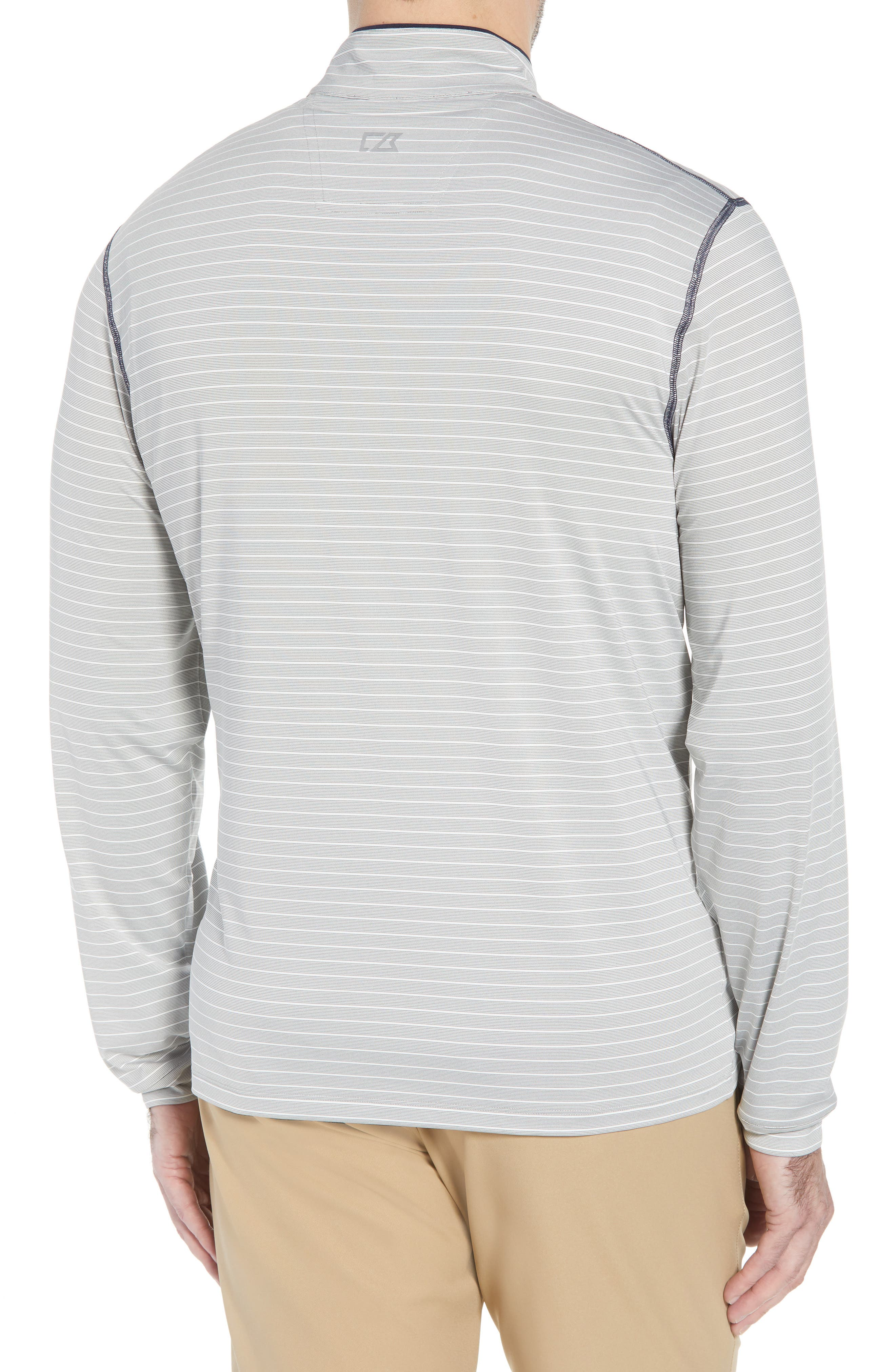 Meridian - Houston Texans Regular Fit Half Zip Pullover,                             Alternate thumbnail 2, color,                             NAVY
