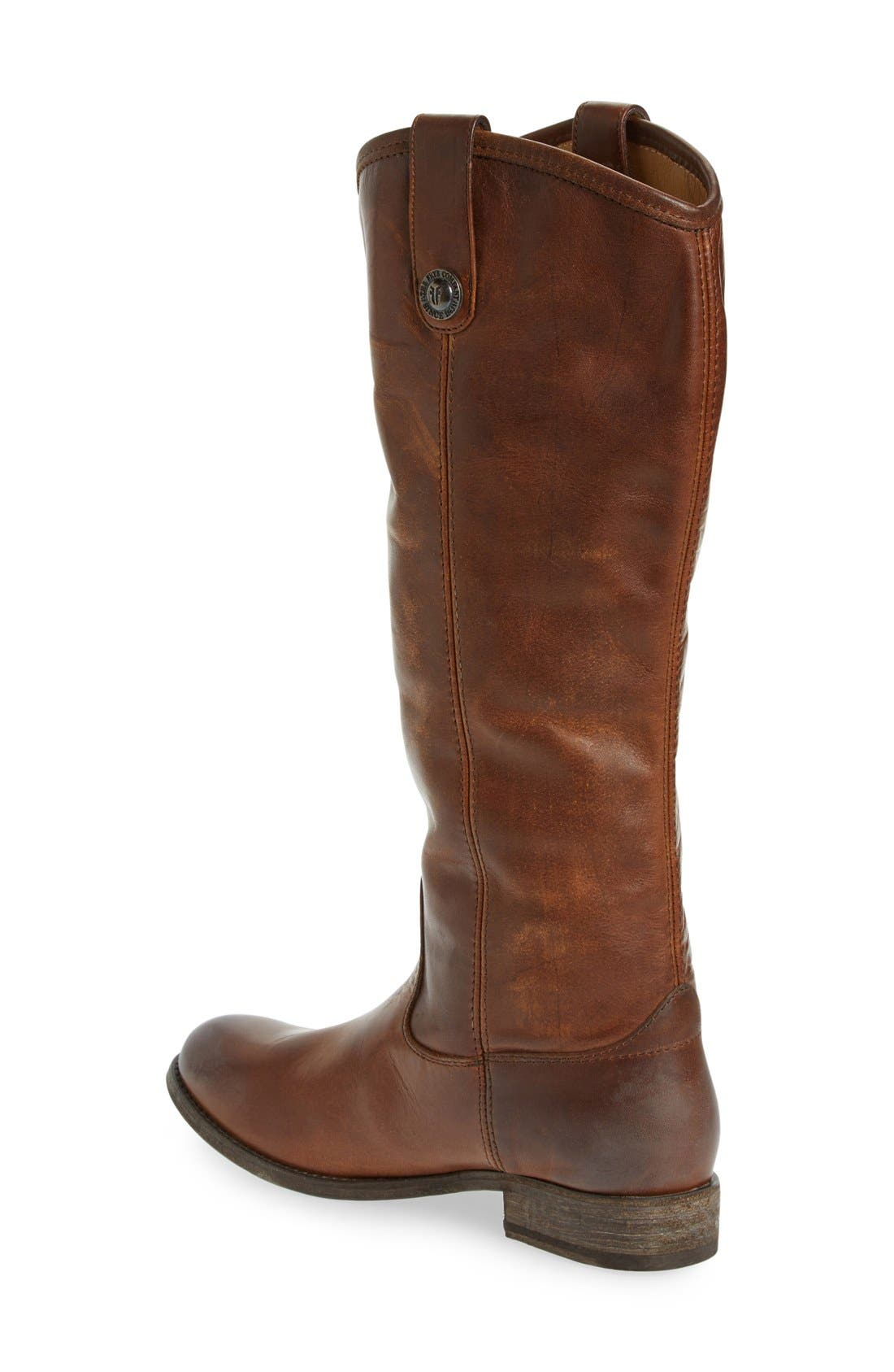 'Melissa Button' Leather Riding Boot,                             Alternate thumbnail 110, color,