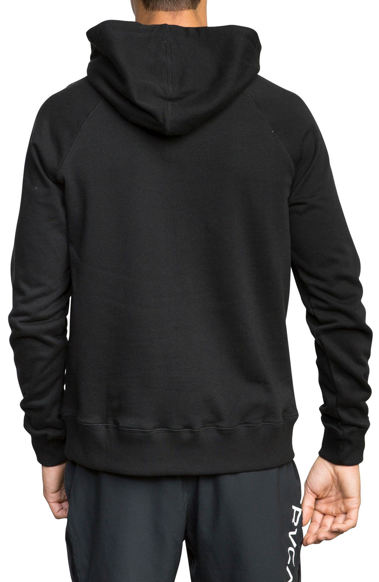 Lock In Graphic Hoodie,                             Alternate thumbnail 2, color,                             001