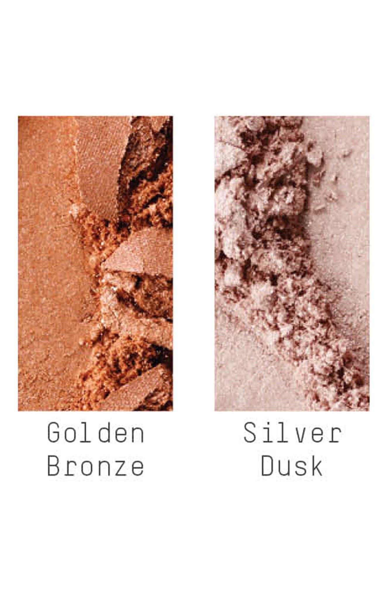 MAC Iridescent Loose Powder,                             Alternate thumbnail 3, color,                             SILVER DUSK