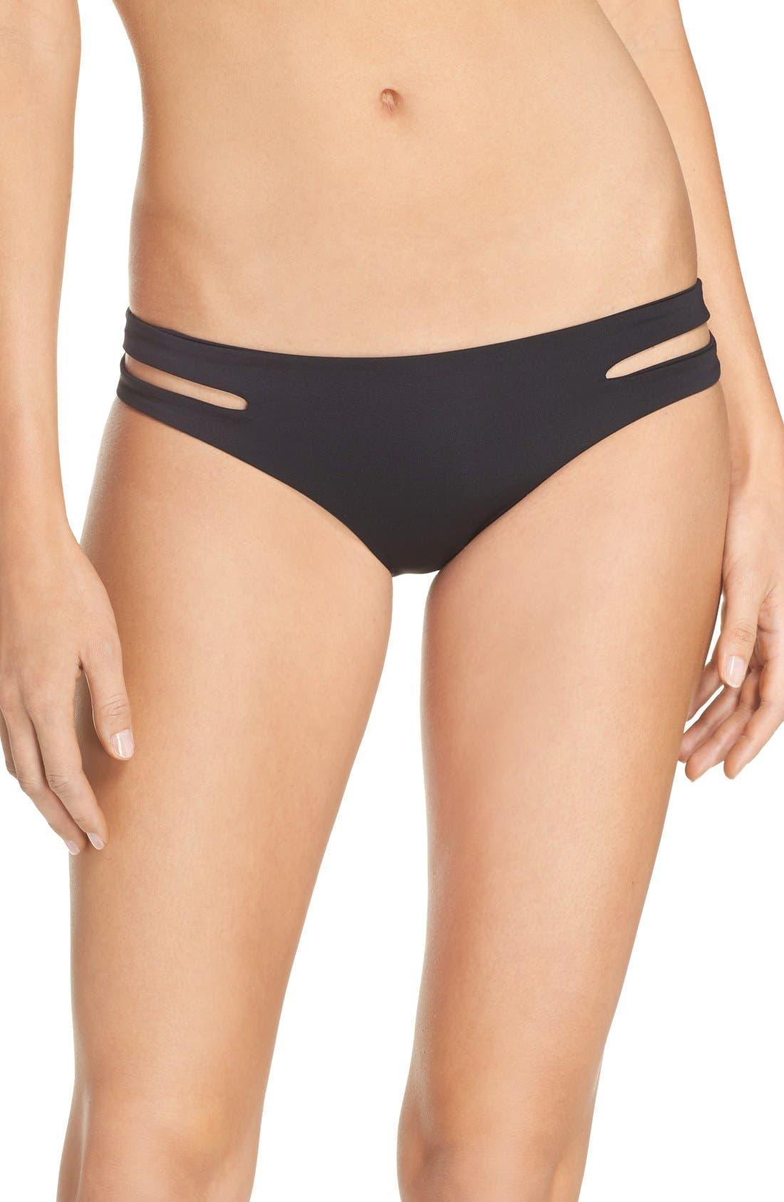Estella Classic Bikini Bottoms,                         Main,                         color, BLACK