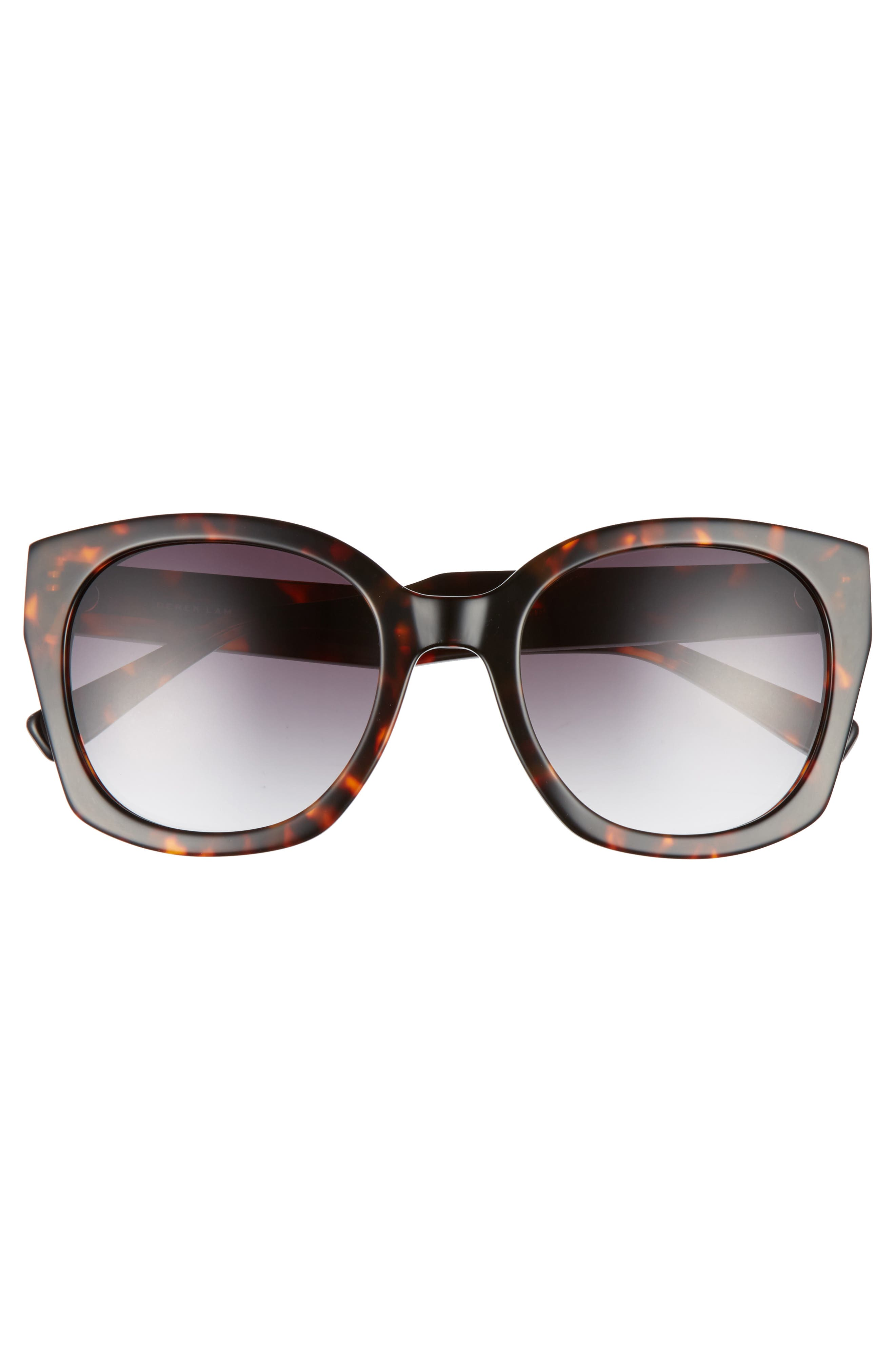 Sadie 54mm Sunglasses,                             Alternate thumbnail 3, color,                             HAVANA TORTOISE
