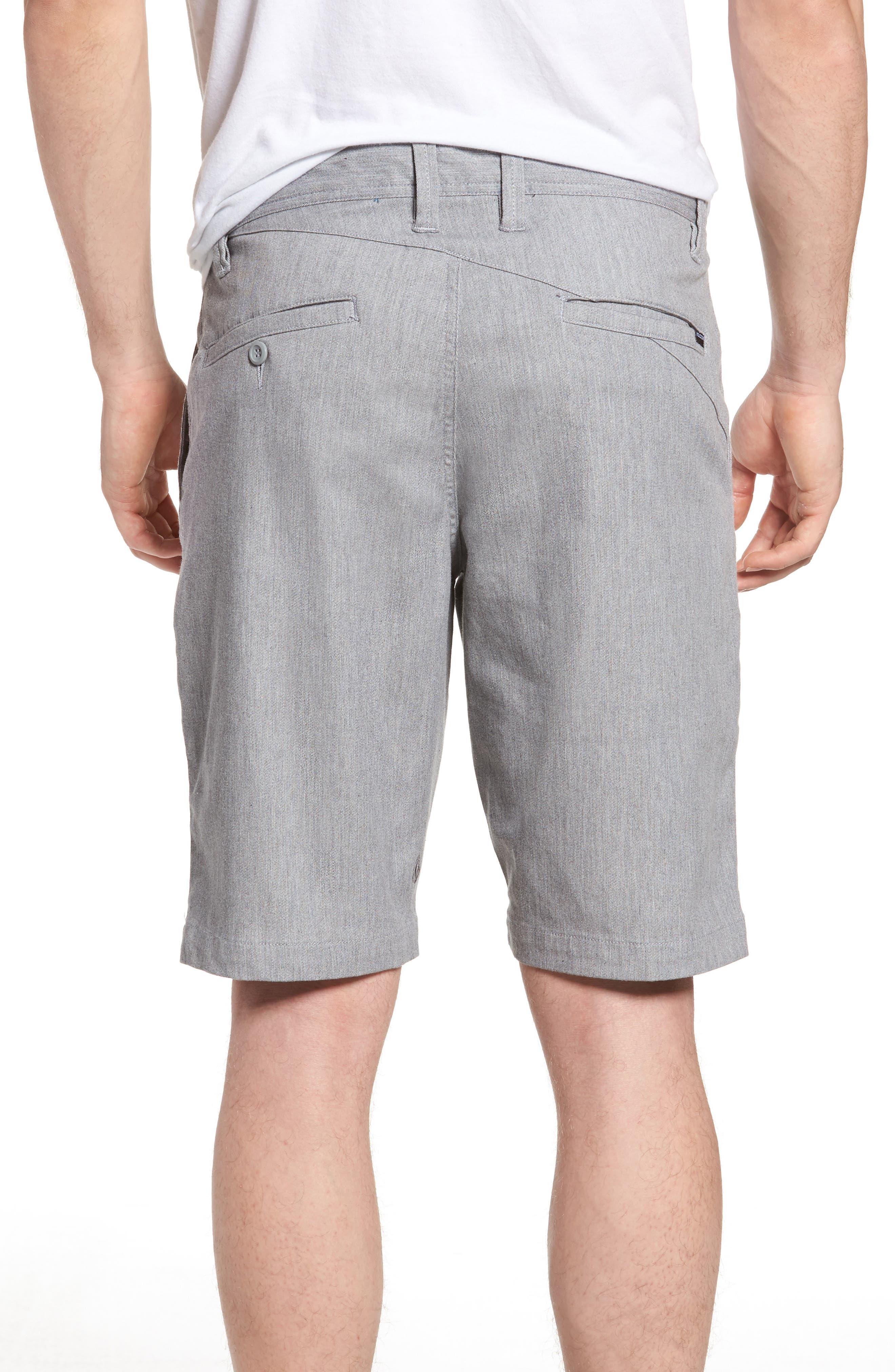 'Modern' Stretch Chino Shorts,                             Alternate thumbnail 16, color,