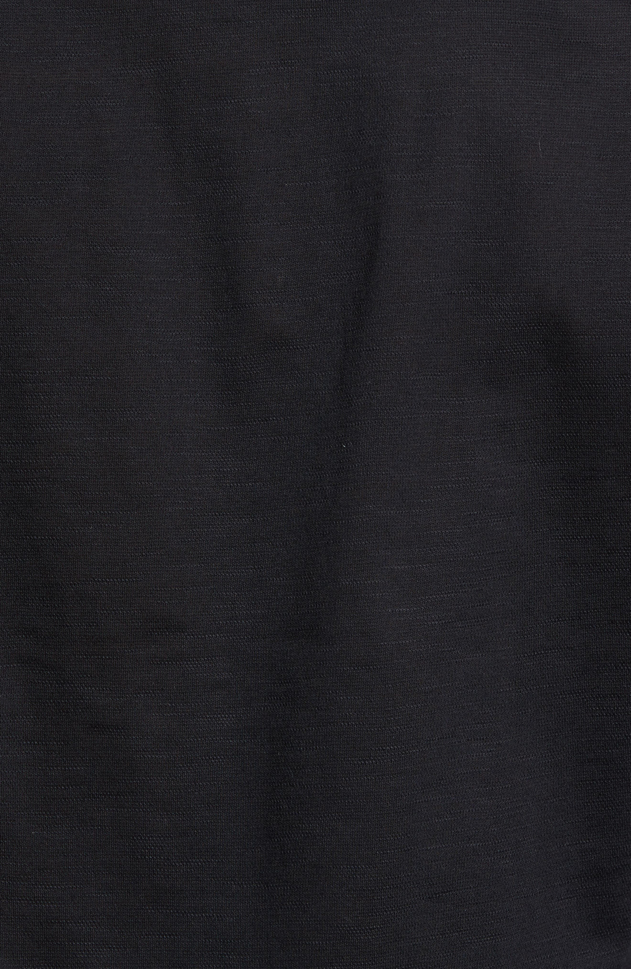 Flamé Knit Sport Shirt,                             Alternate thumbnail 5, color,                             001