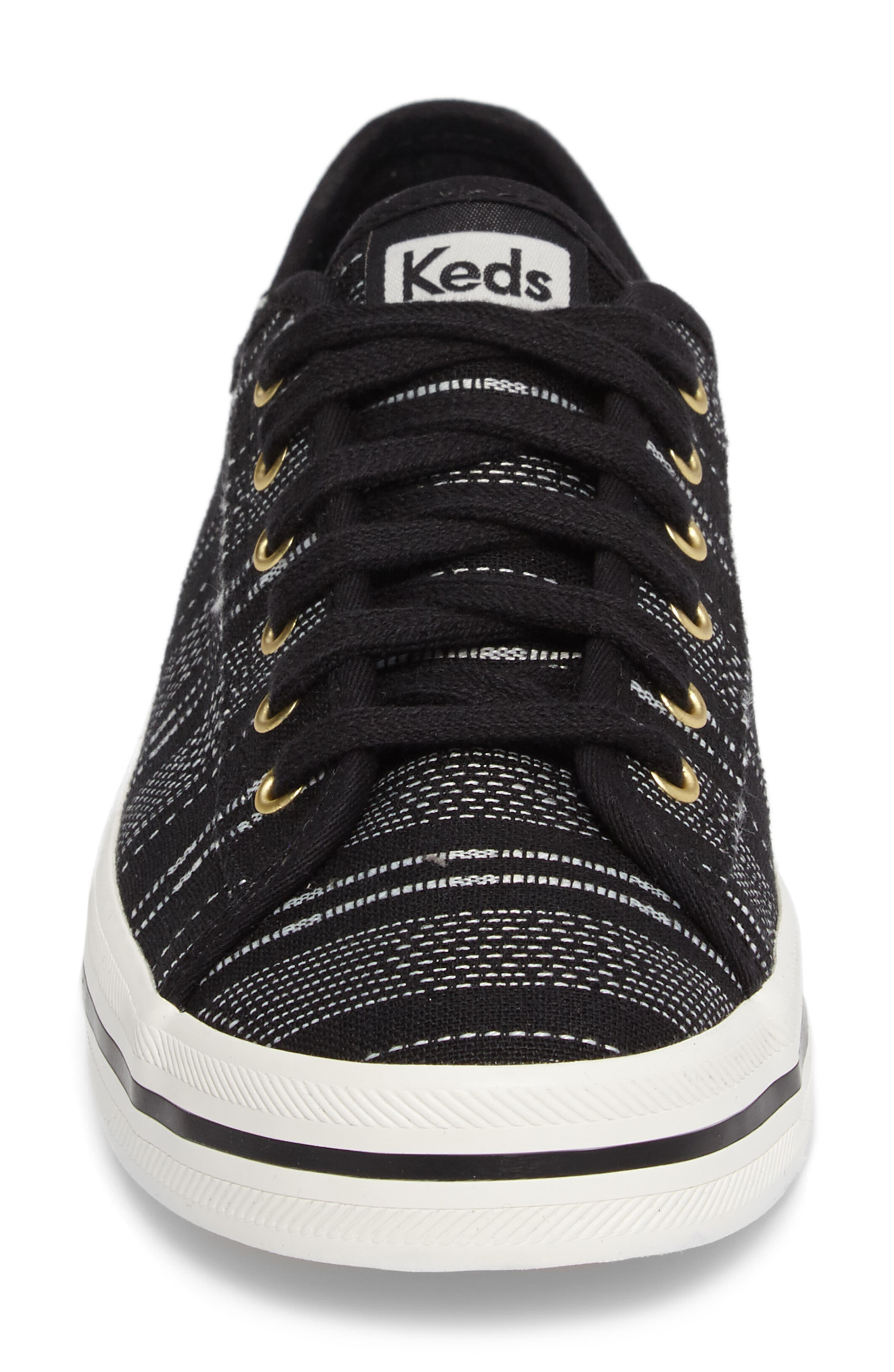 Kickstart Baja Stripe Sneaker,                             Alternate thumbnail 4, color,                             001
