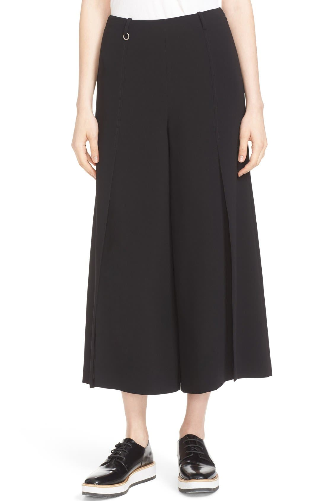 Willow Split Crop Pants,                             Main thumbnail 1, color,