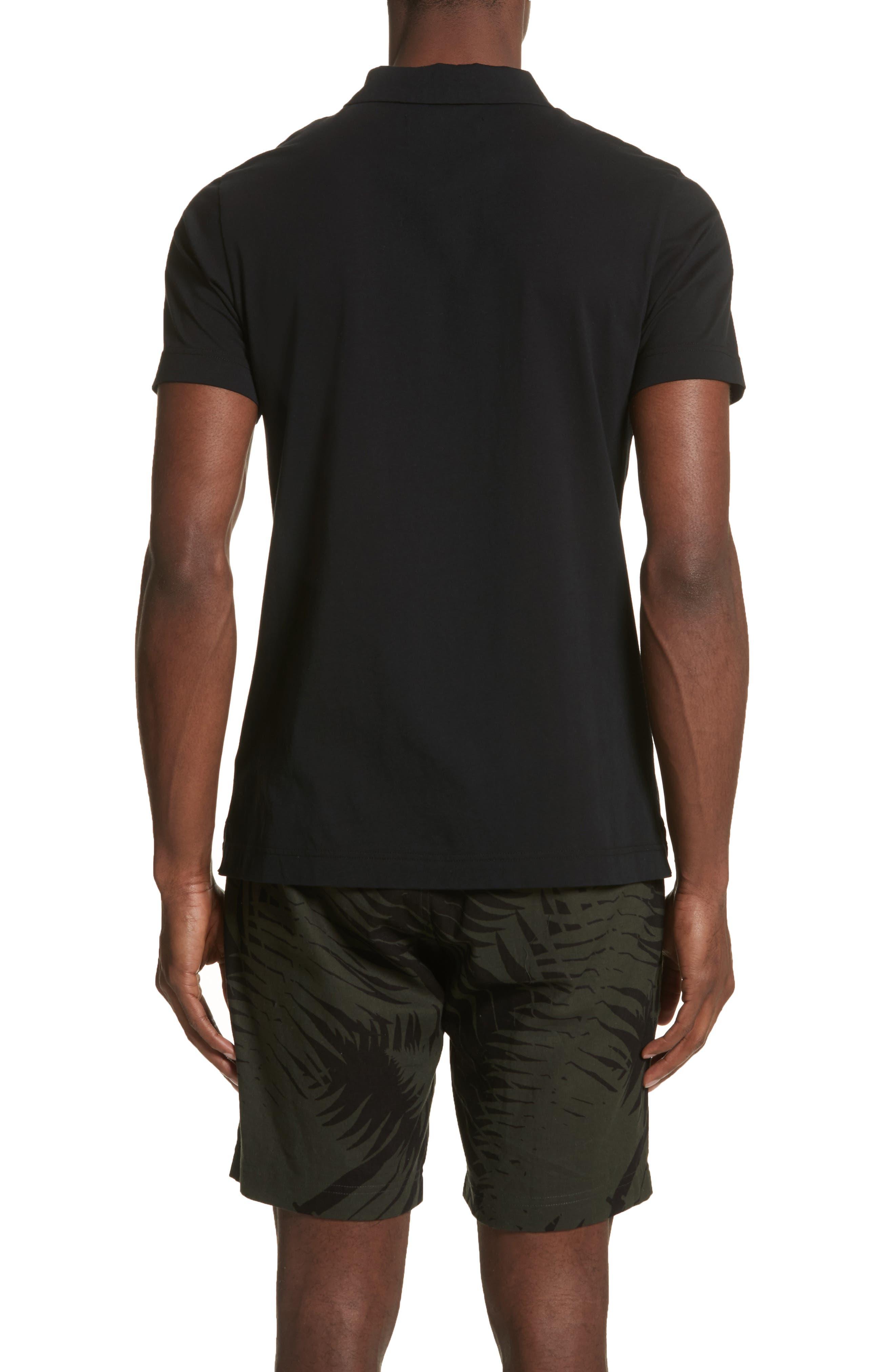 Short Sleeve Polo Shirt,                             Alternate thumbnail 2, color,                             001