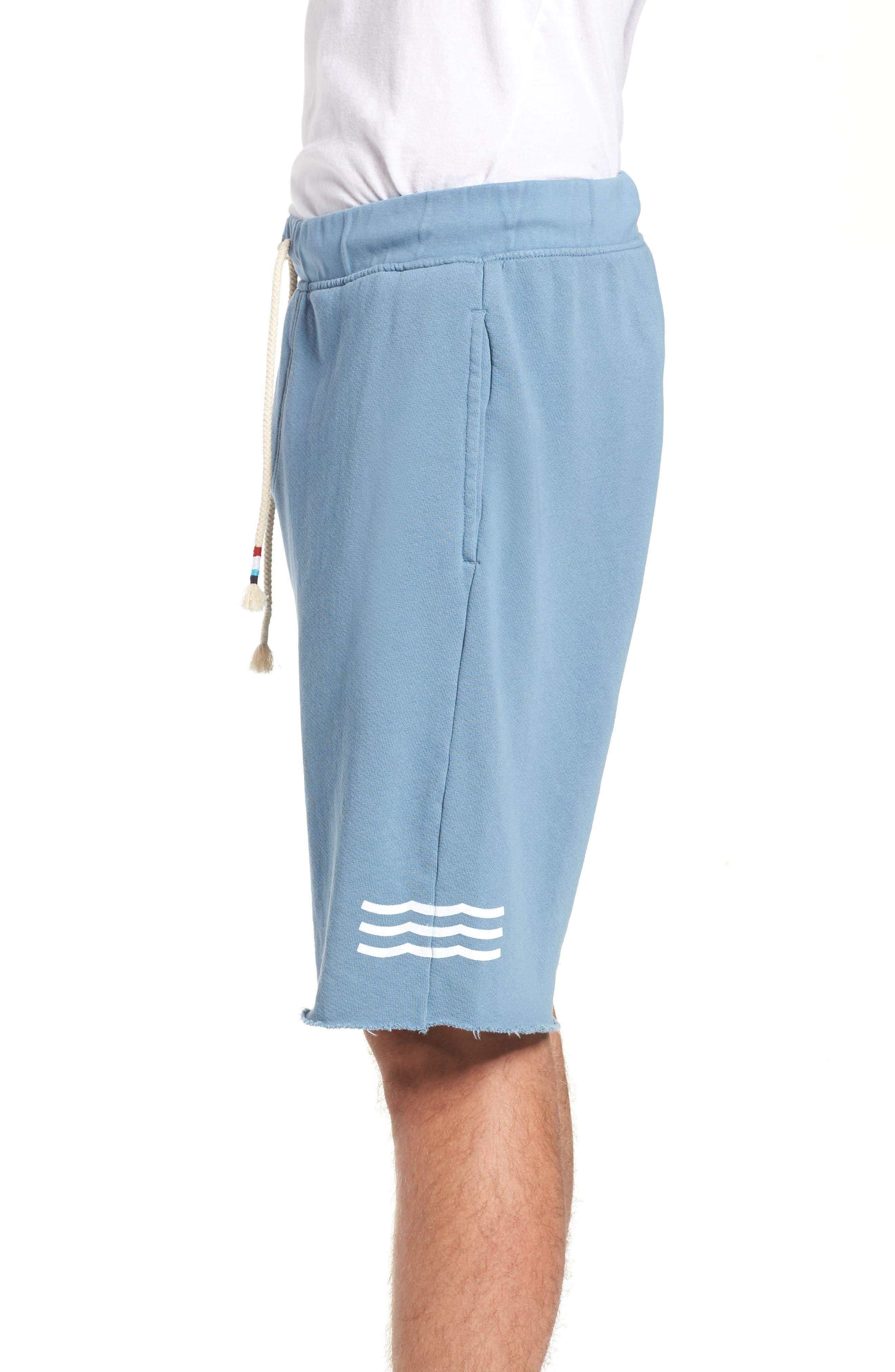 Essential Knit Shorts,                             Alternate thumbnail 3, color,                             400