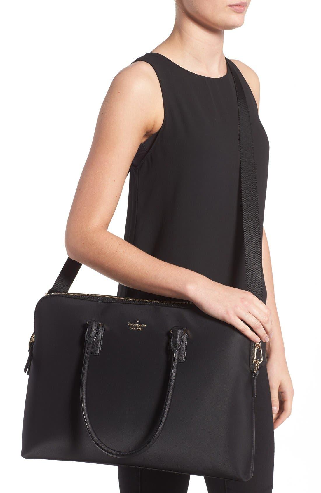 daveney 15 inch laptop bag,                             Alternate thumbnail 2, color,                             001