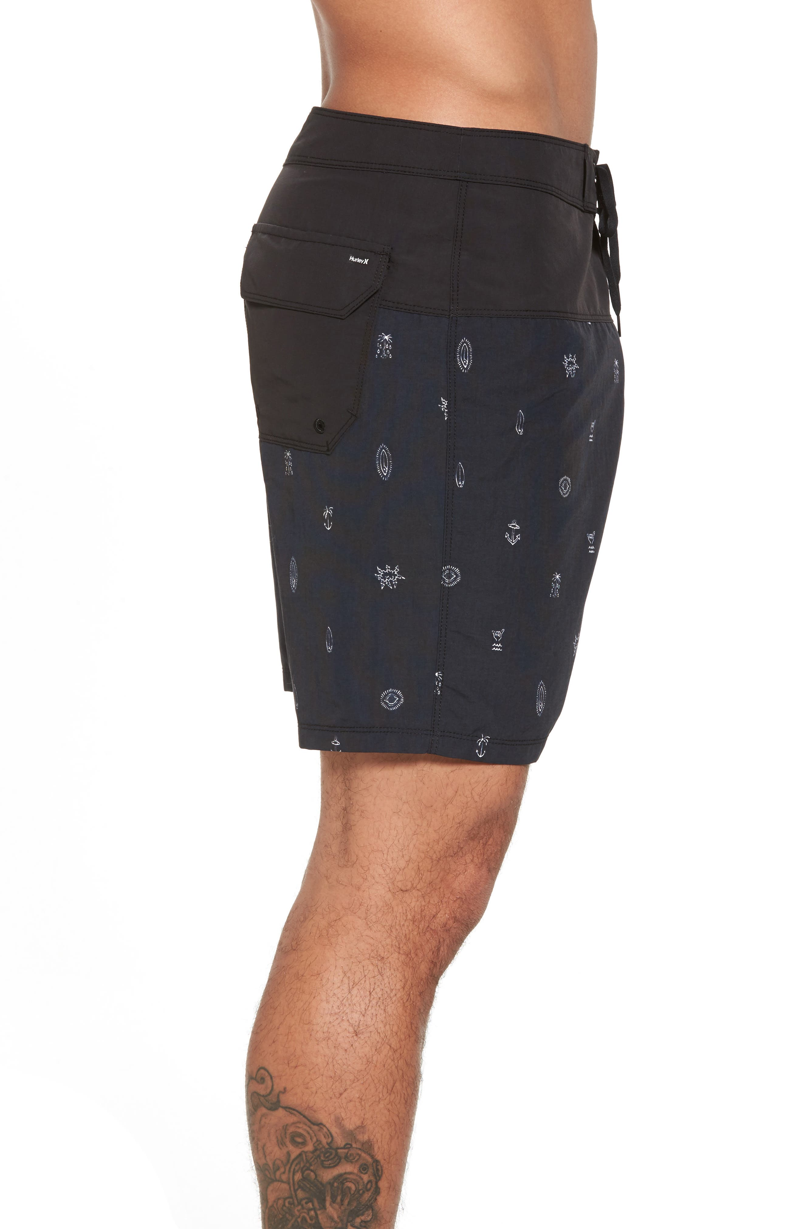 School Yards Board Shorts,                             Alternate thumbnail 4, color,                             010