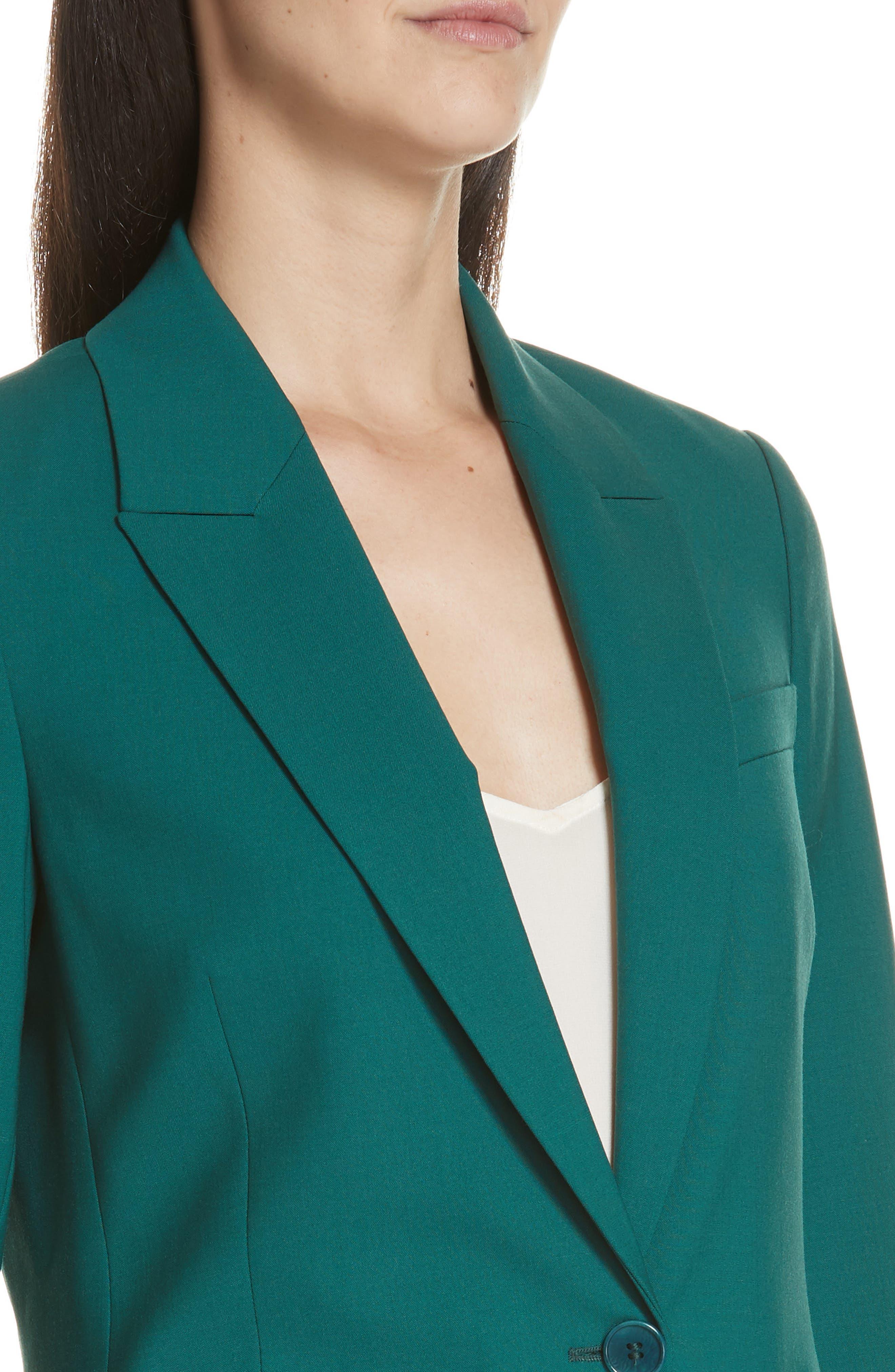 Etienette B Good Wool Suit Jacket,                             Alternate thumbnail 26, color,
