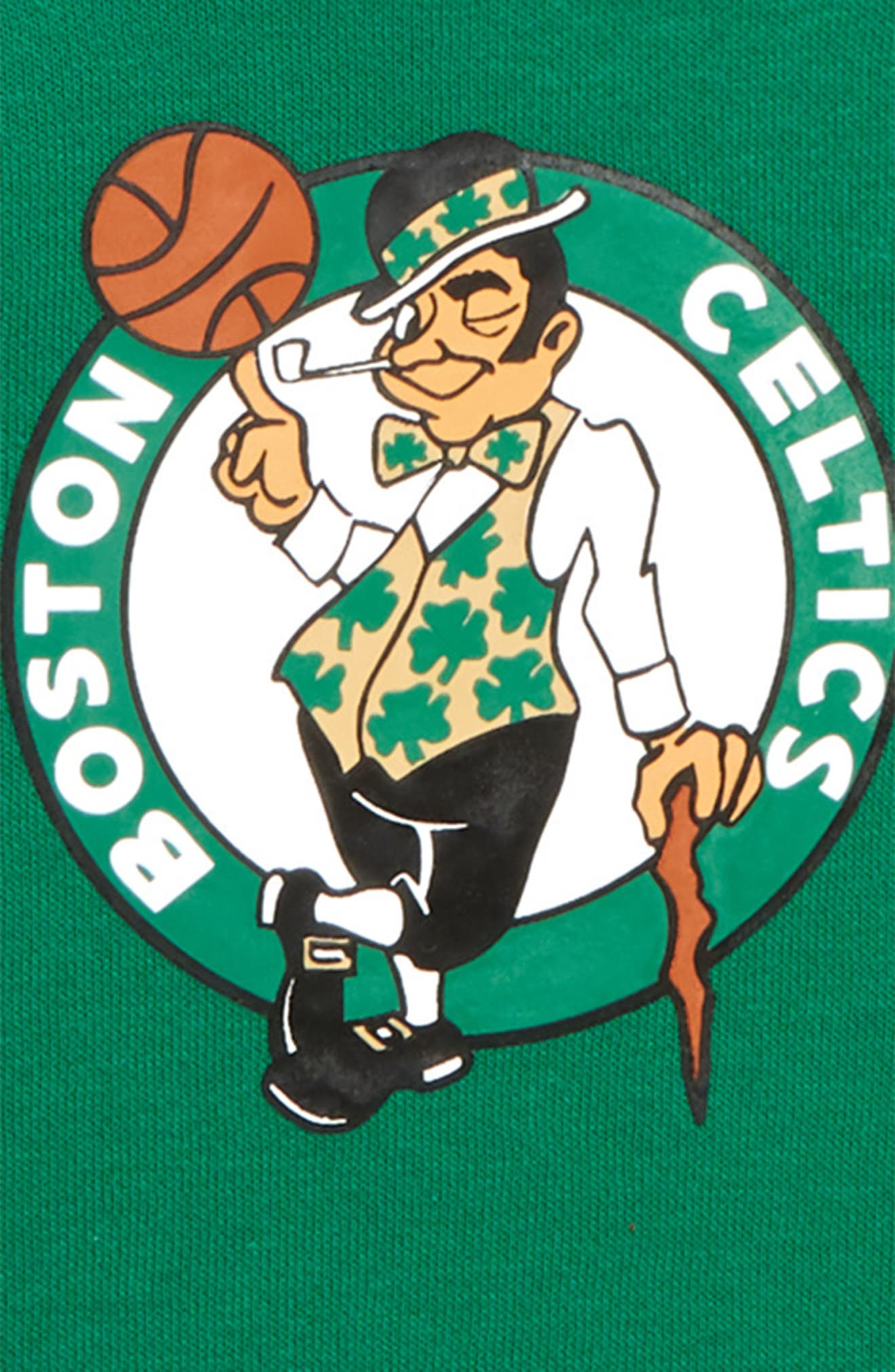 Boston Celtics Hoodie,                             Alternate thumbnail 2, color,                             CLOVER