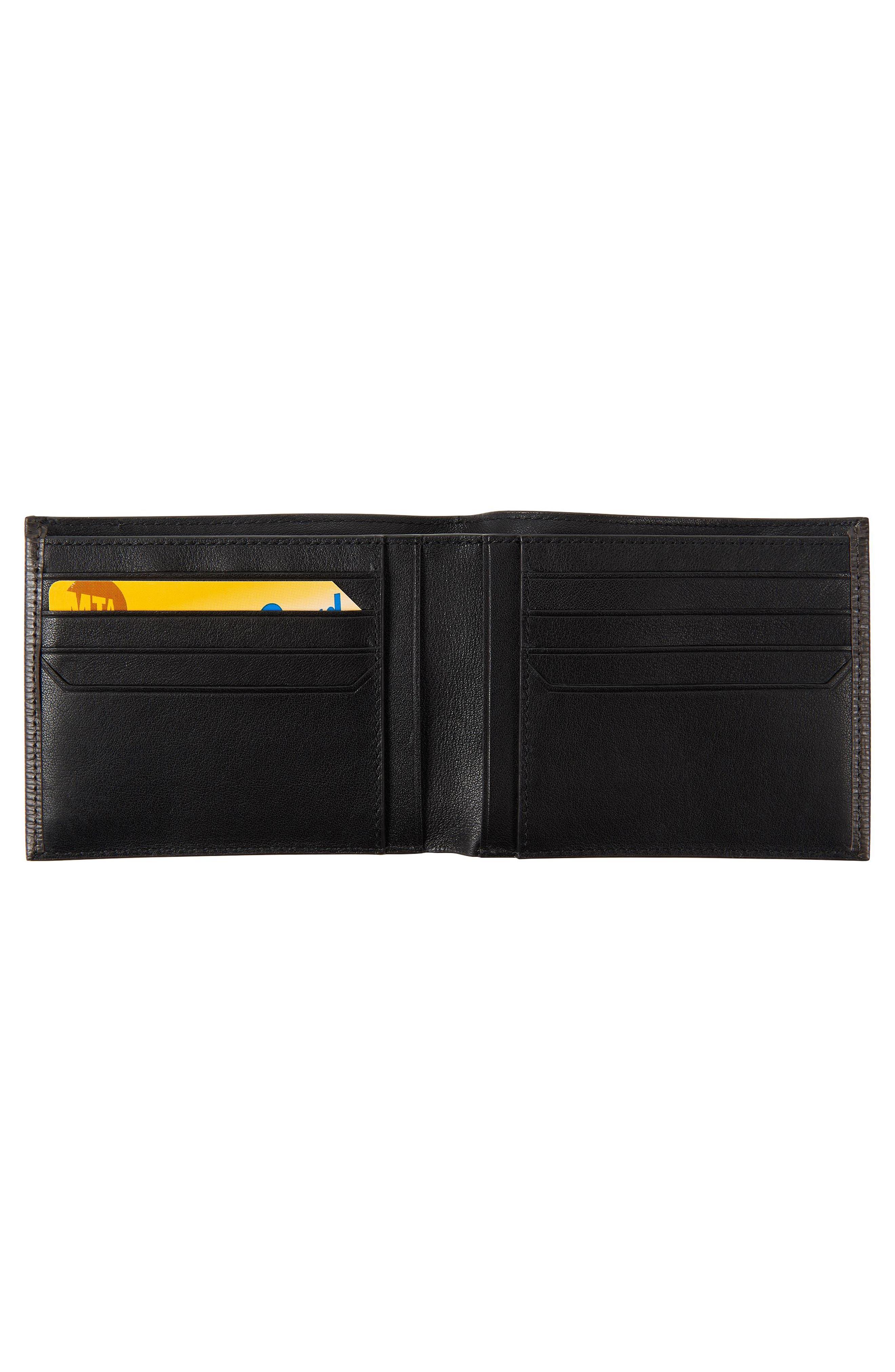 Monaco Leather Wallet,                             Alternate thumbnail 2, color,