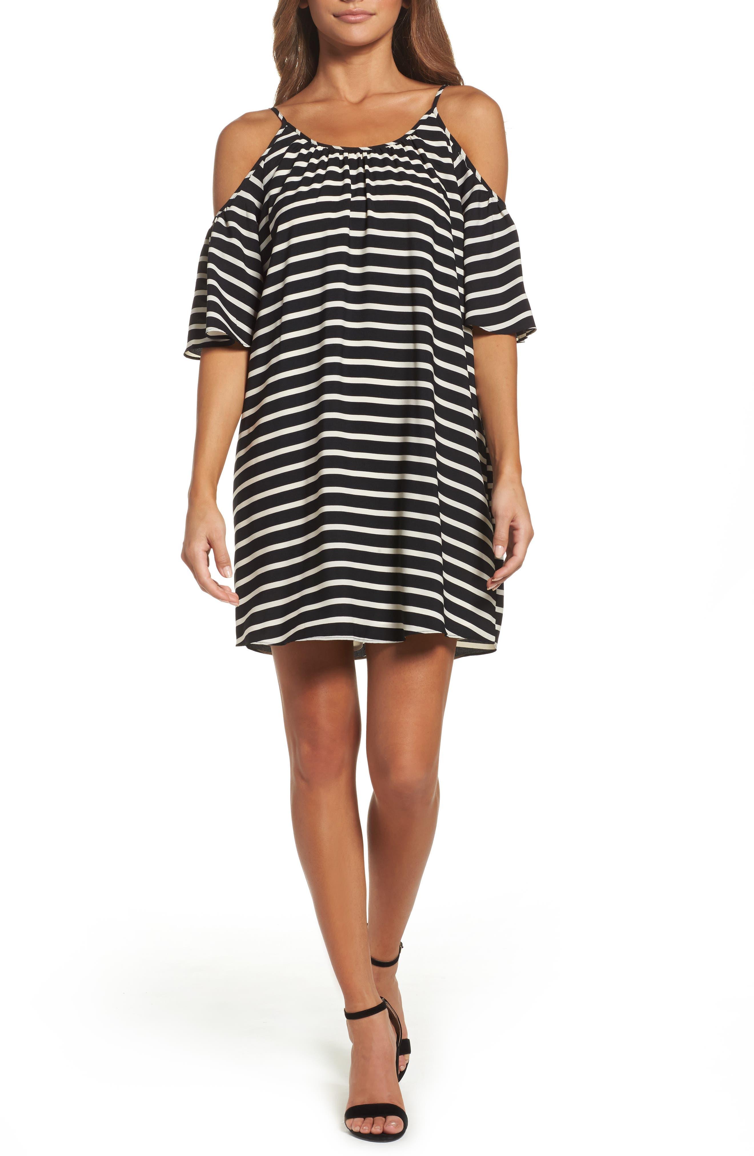 Cold Shoulder Dress,                         Main,                         color, 006