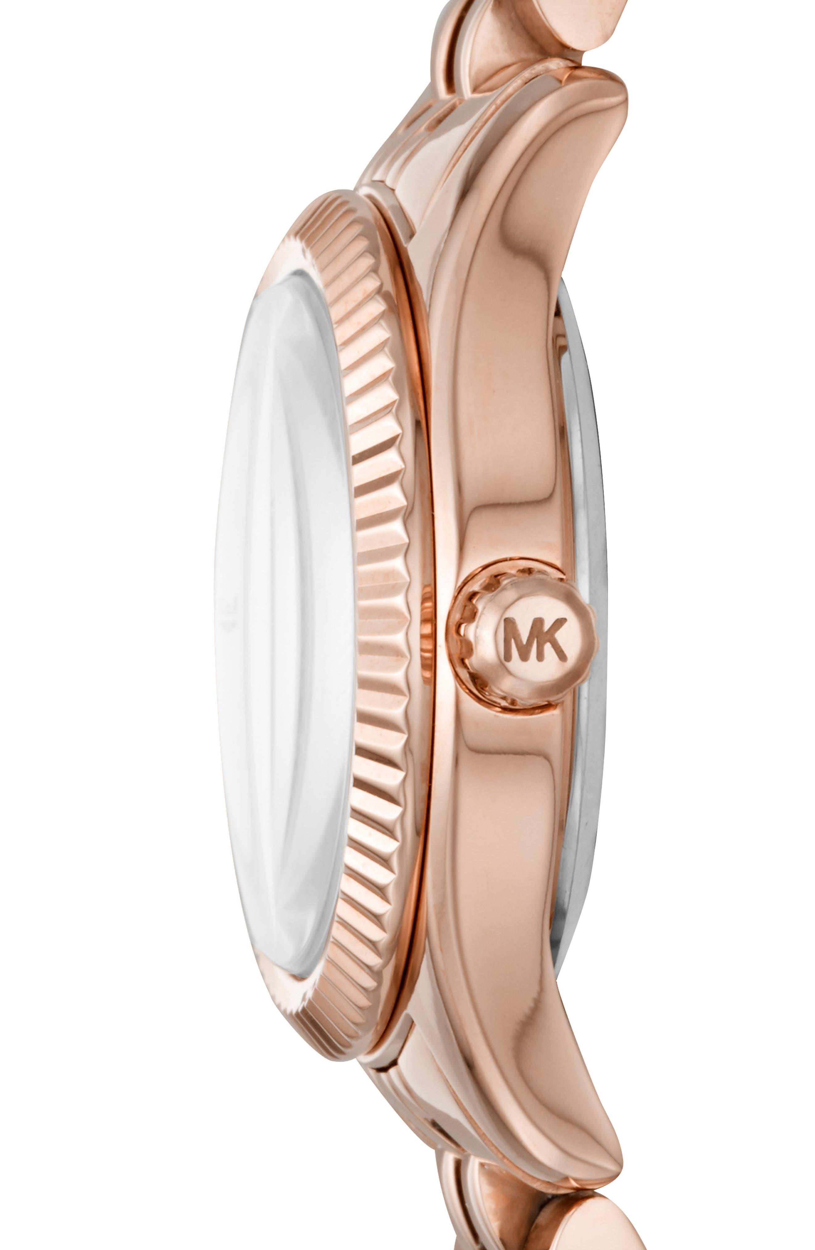 Lexington Bracelet Watch, 26mm,                             Alternate thumbnail 2, color,                             ROSE GOLD