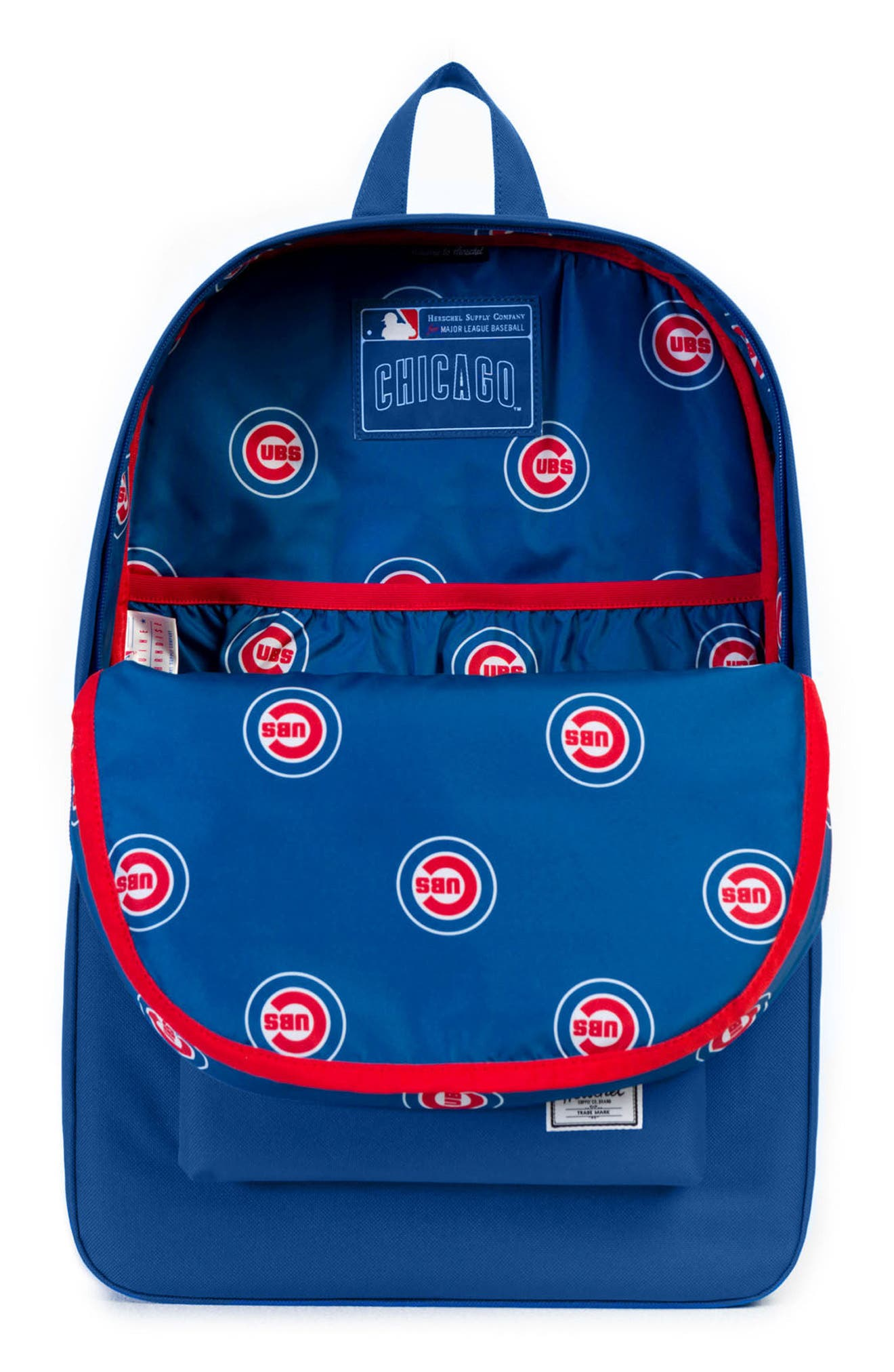 Heritage Chicago Cubs Backpack,                             Alternate thumbnail 3, color,                             CHICAGO CUBS
