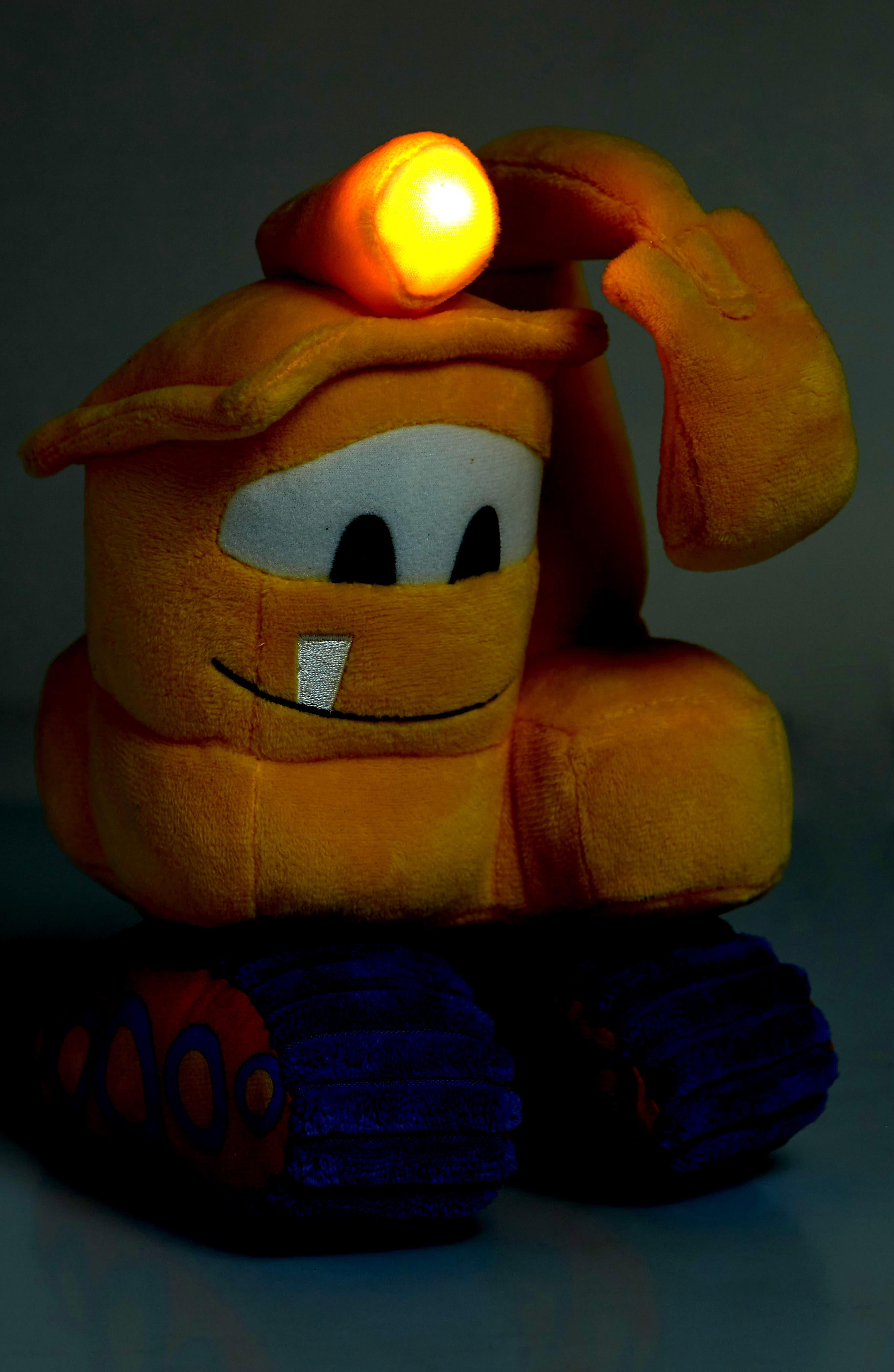 KIDS PREFERRED,                             Goodnight Goodnight, Construction Site Excavator Light-Up Plush Toy,                             Alternate thumbnail 3, color,                             700