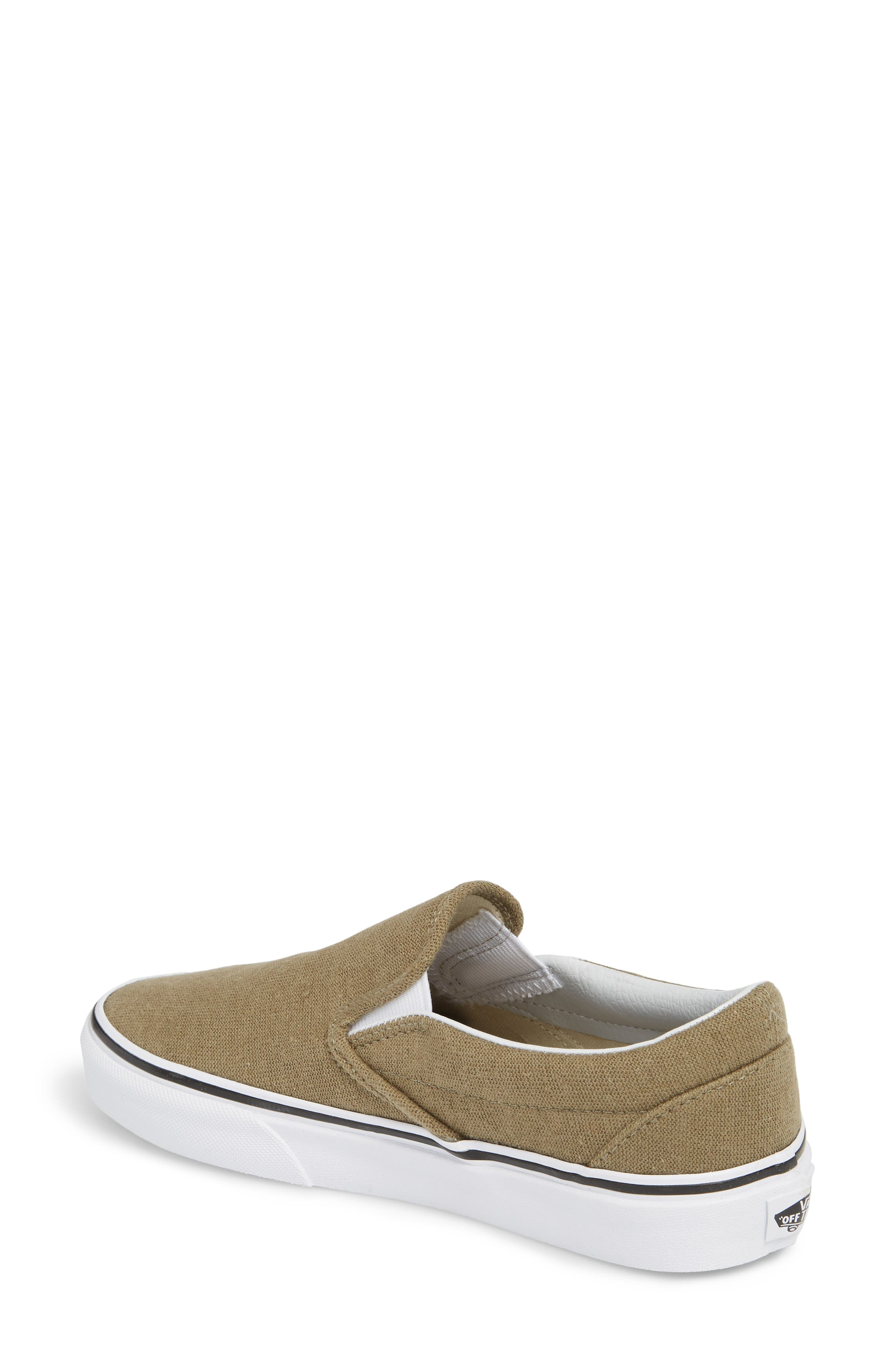 Classic Slip-On Sneaker,                             Alternate thumbnail 110, color,