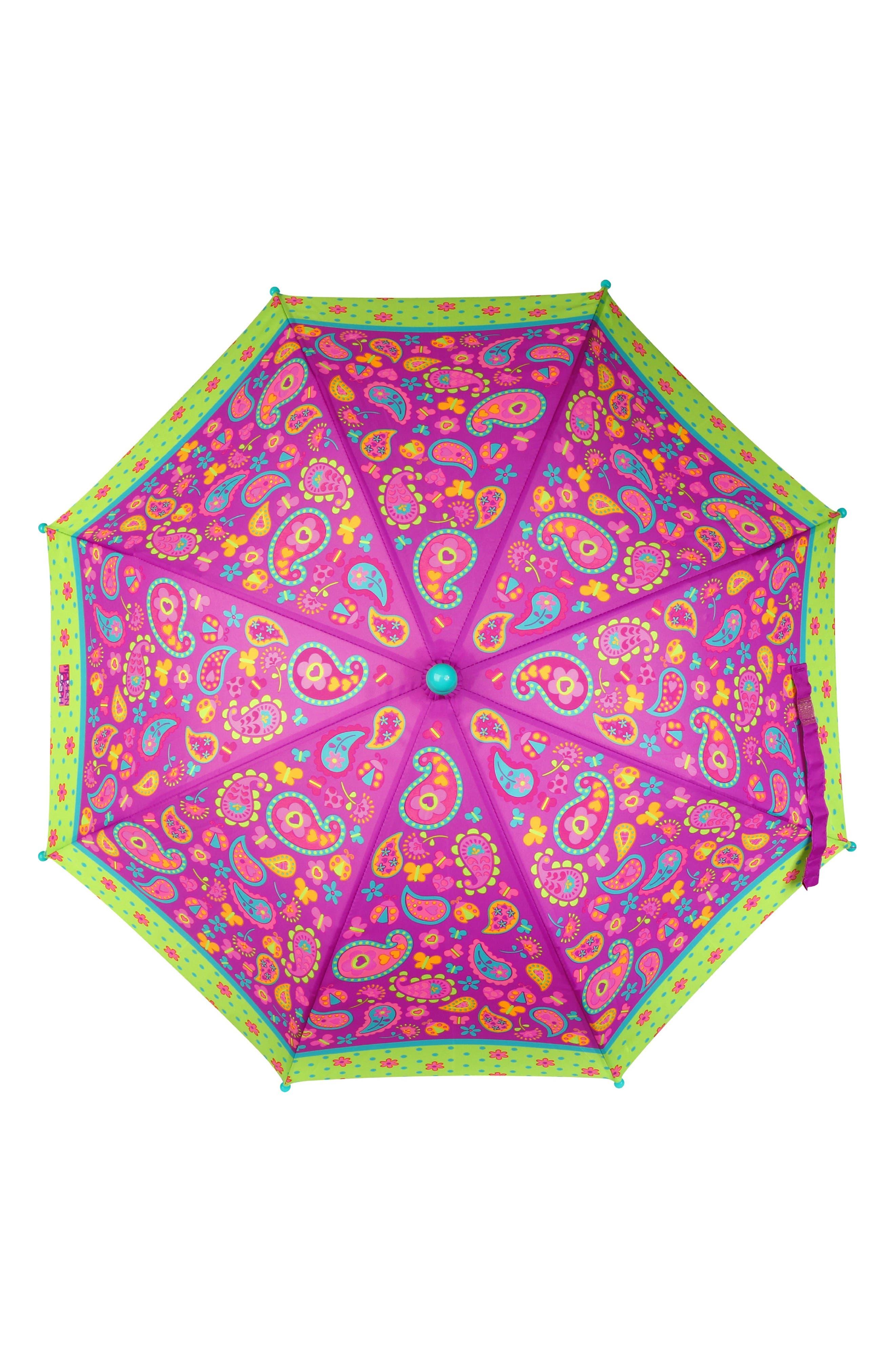 Paisley Raincoat & Umbrella Set,                             Alternate thumbnail 2, color,                             PAISLEY