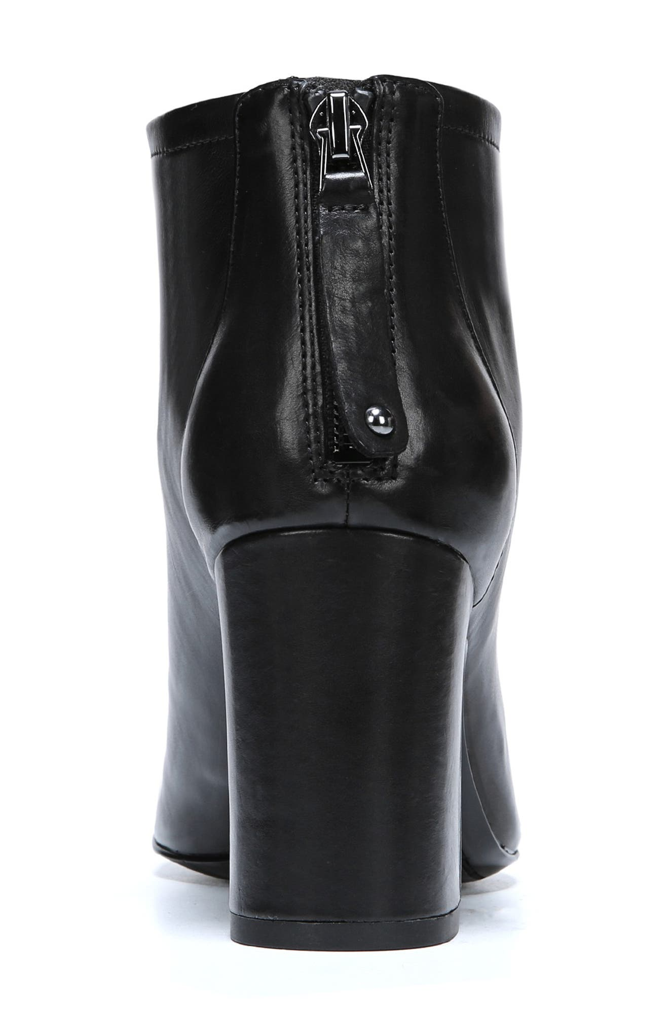 Jacoby Bootie,                             Alternate thumbnail 7, color,                             BLACK STRETCH LEATHER